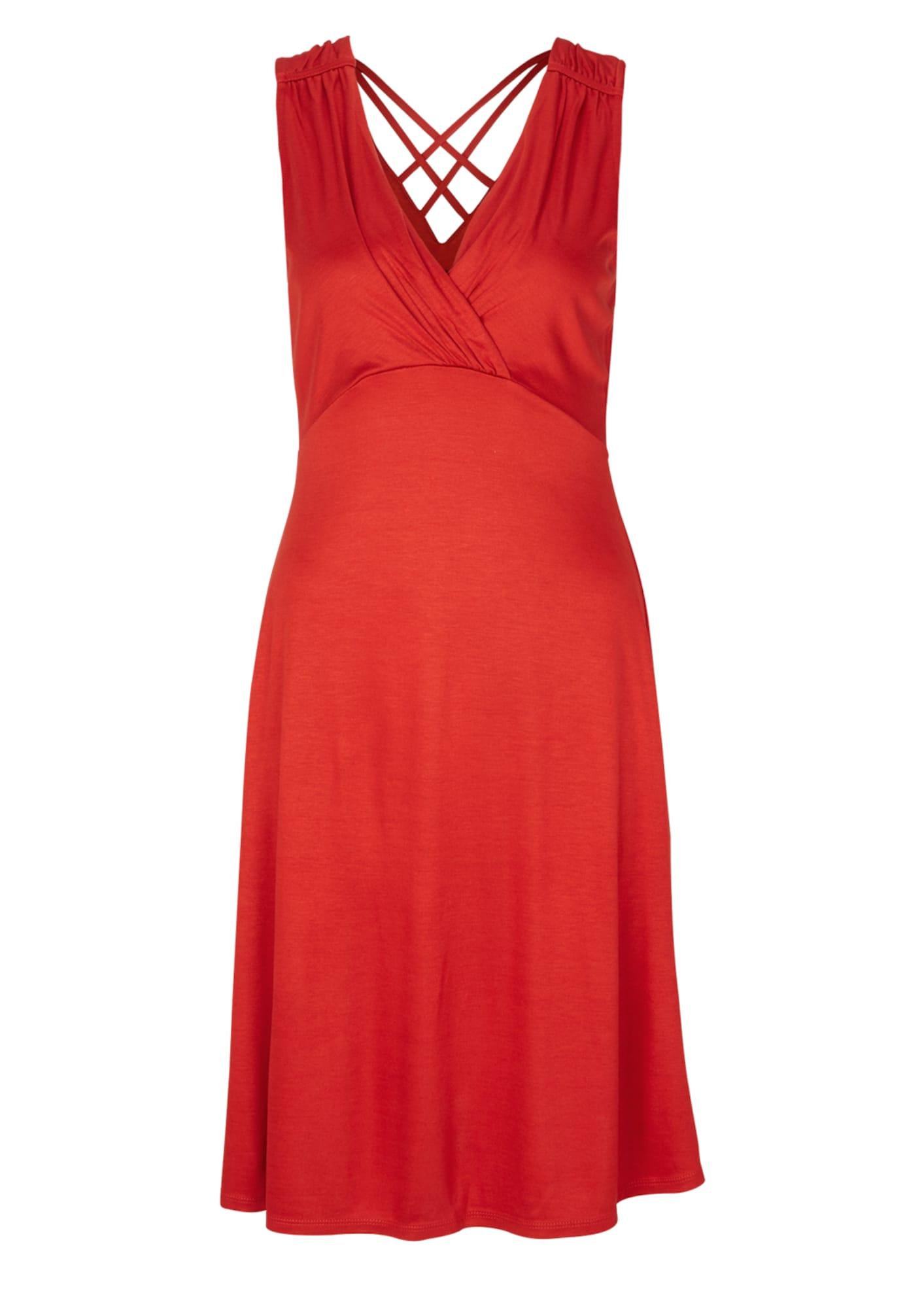Koktejlové šaty červená S.Oliver BLACK LABEL