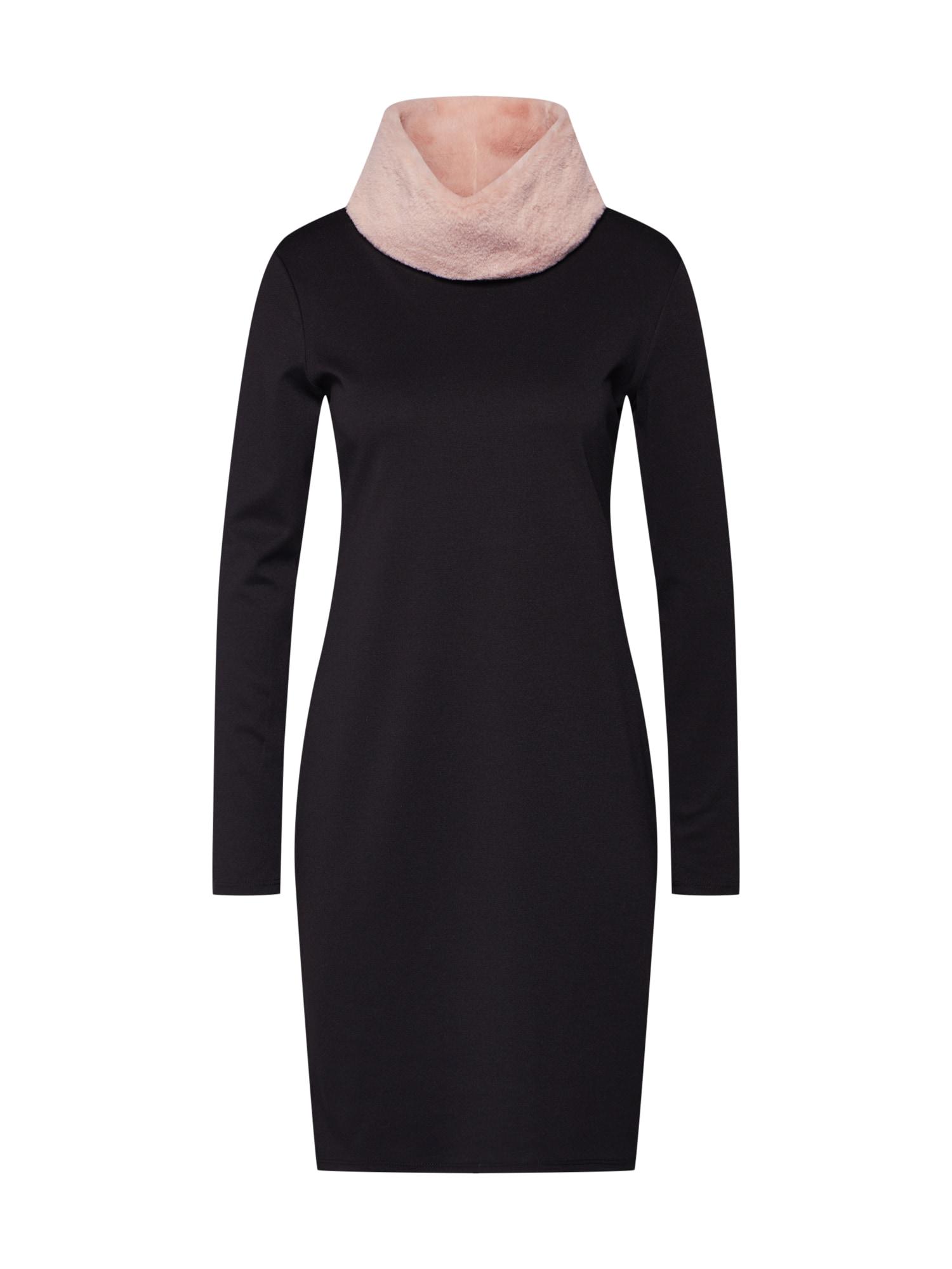 Šaty DICENTRA růžová černá Fornarina