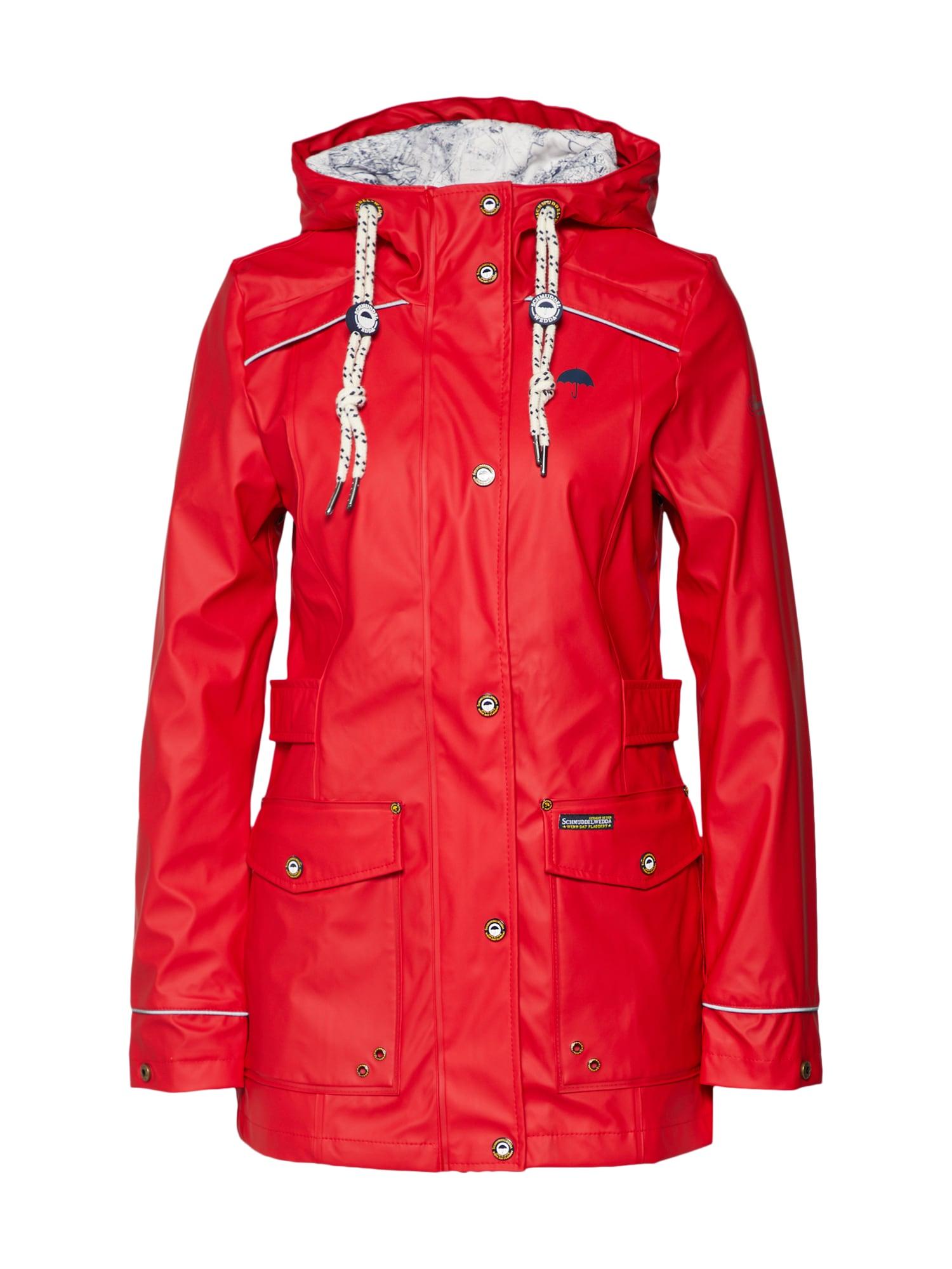 Přechodná bunda červená Schmuddelwedda