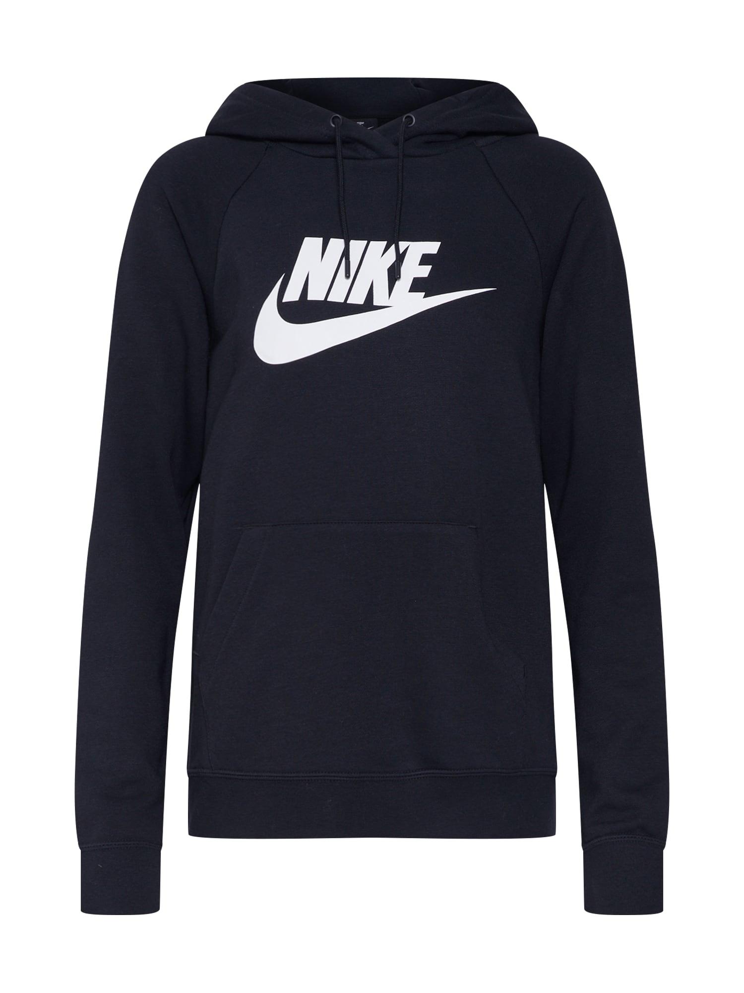 Mikina Essntl černá bílá Nike Sportswear