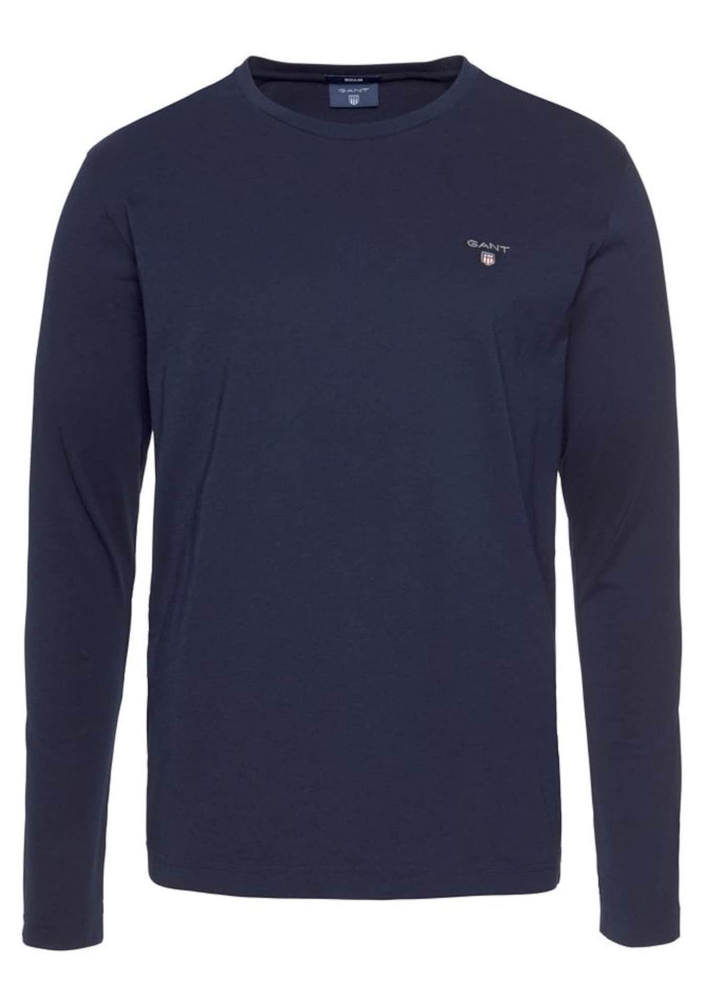 Tričko námořnická modř GANT