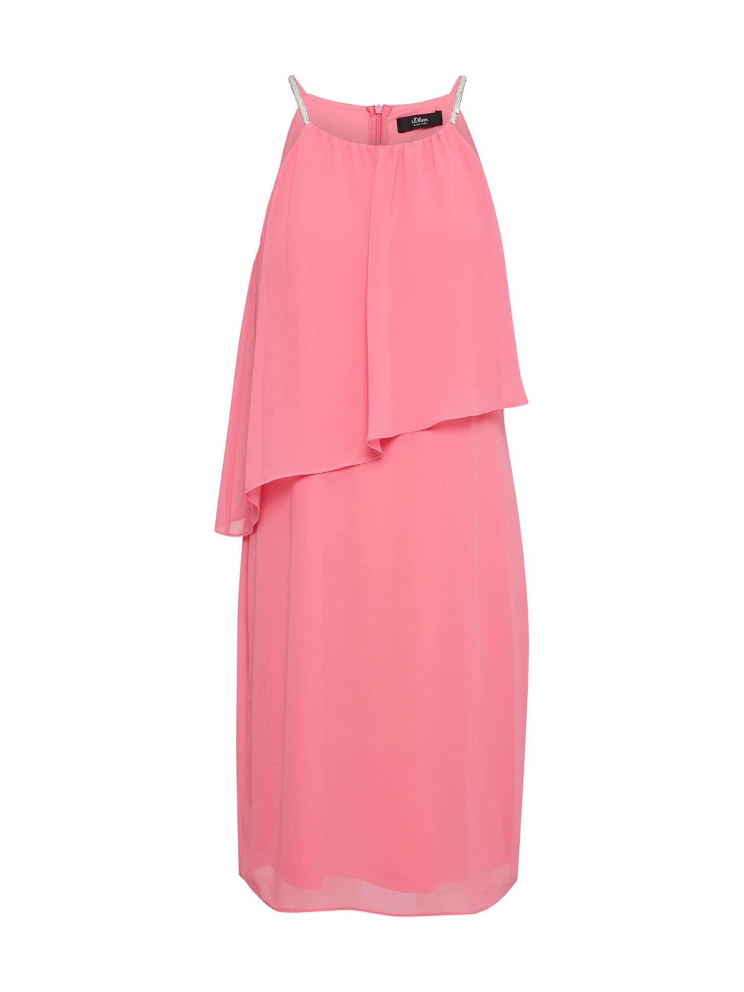 Šaty KURZ pink S.Oliver BLACK LABEL