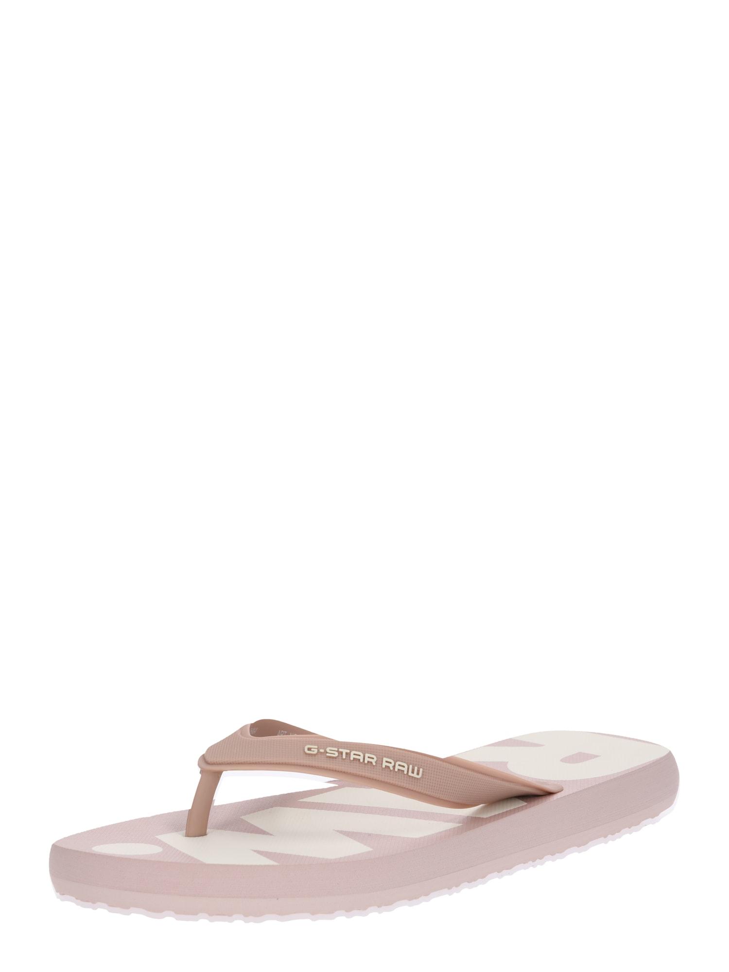 Pantofle Dend růžová bílá G-STAR RAW