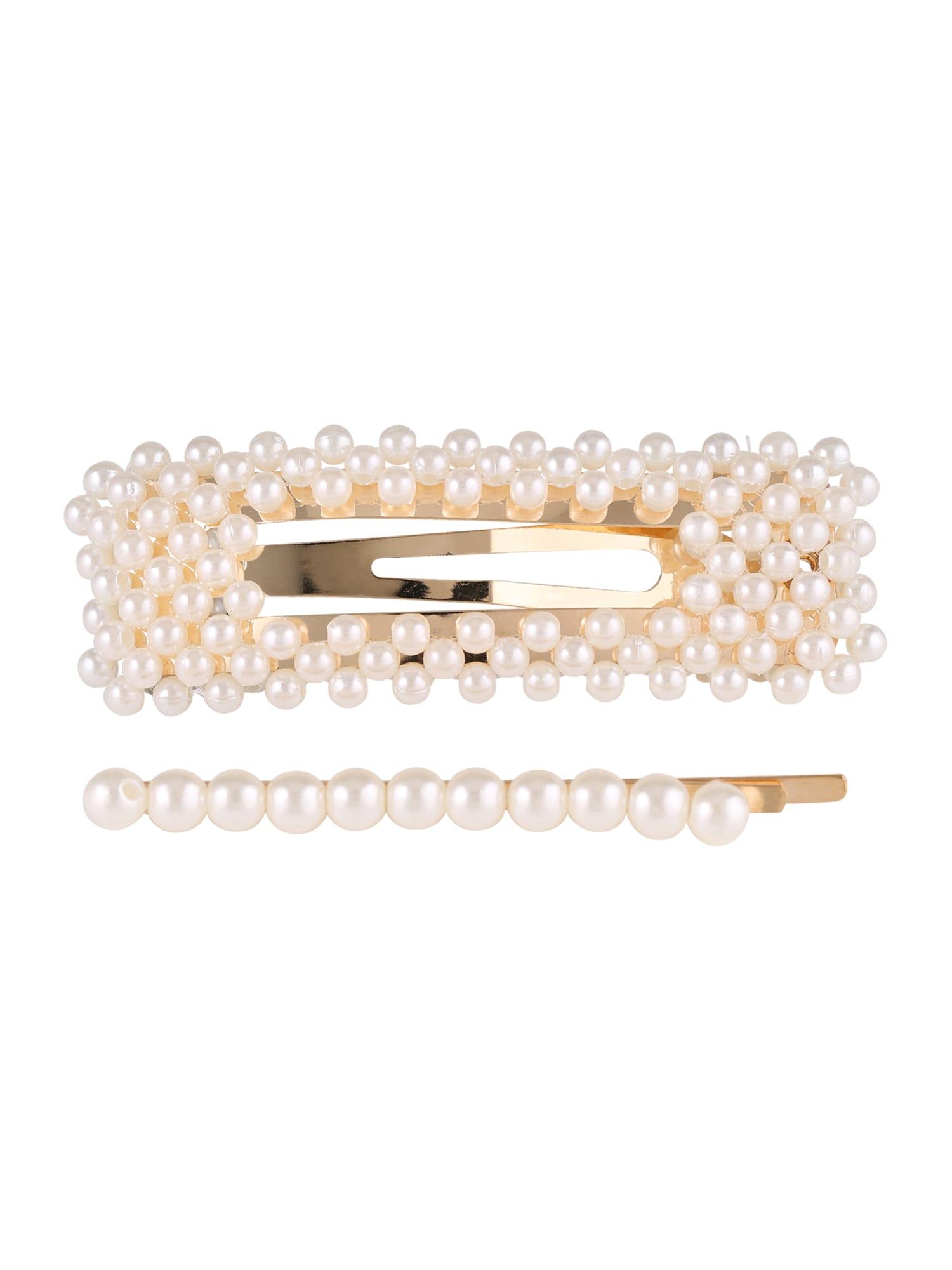 Šperky do vlasů Sea Pearl Clip Single Pearl Needle bílá perlově bílá We Are Flowergirls