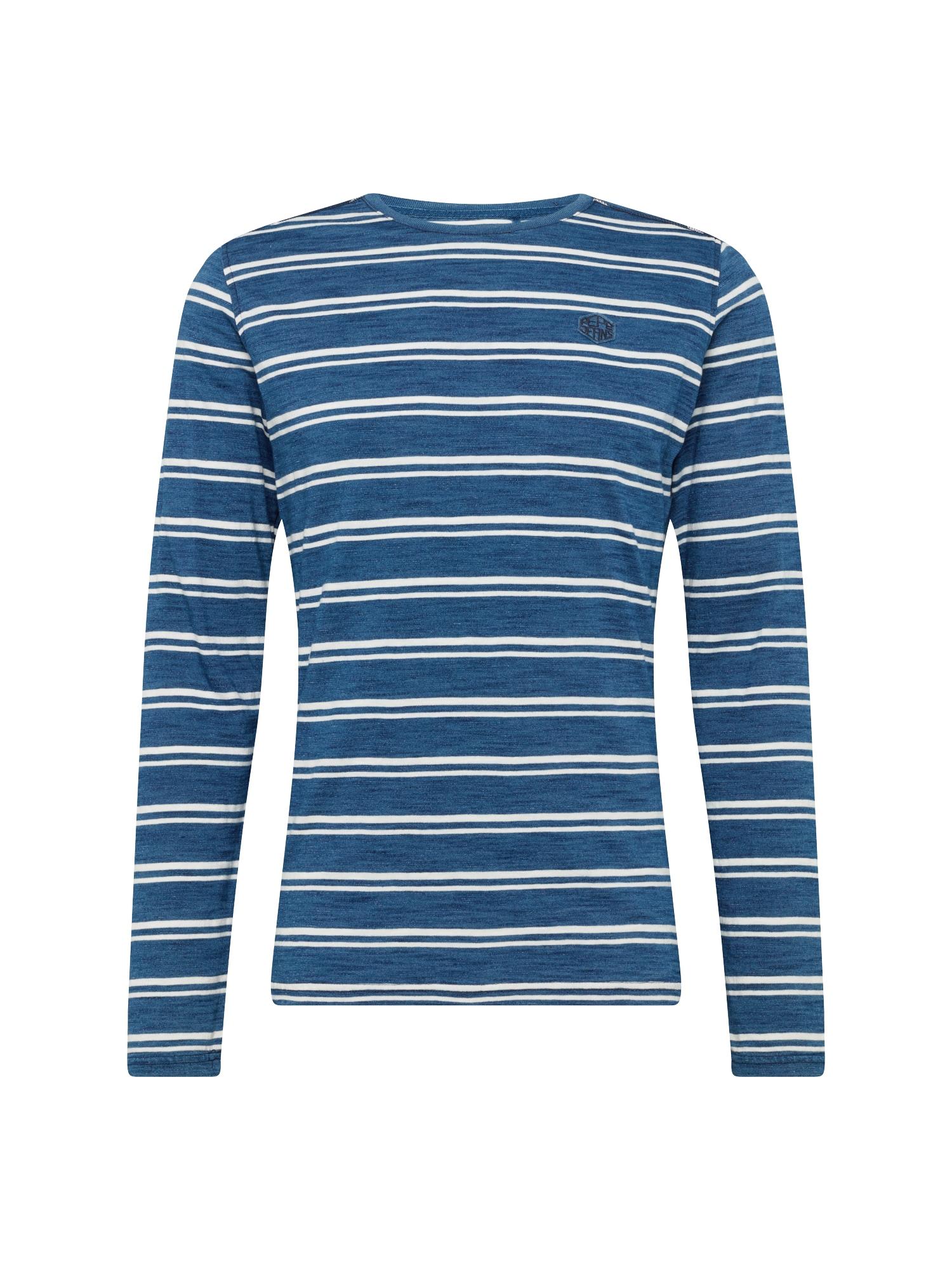 Tričko JARED tmavě modrá červená Pepe Jeans
