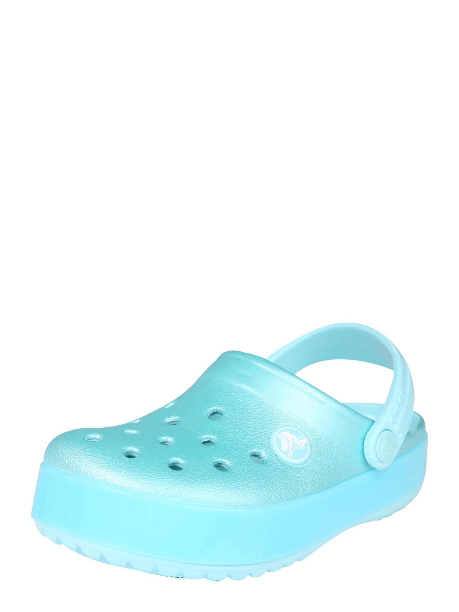 Otevřená obuv Ice Pop Clog  tyrkysová Crocs