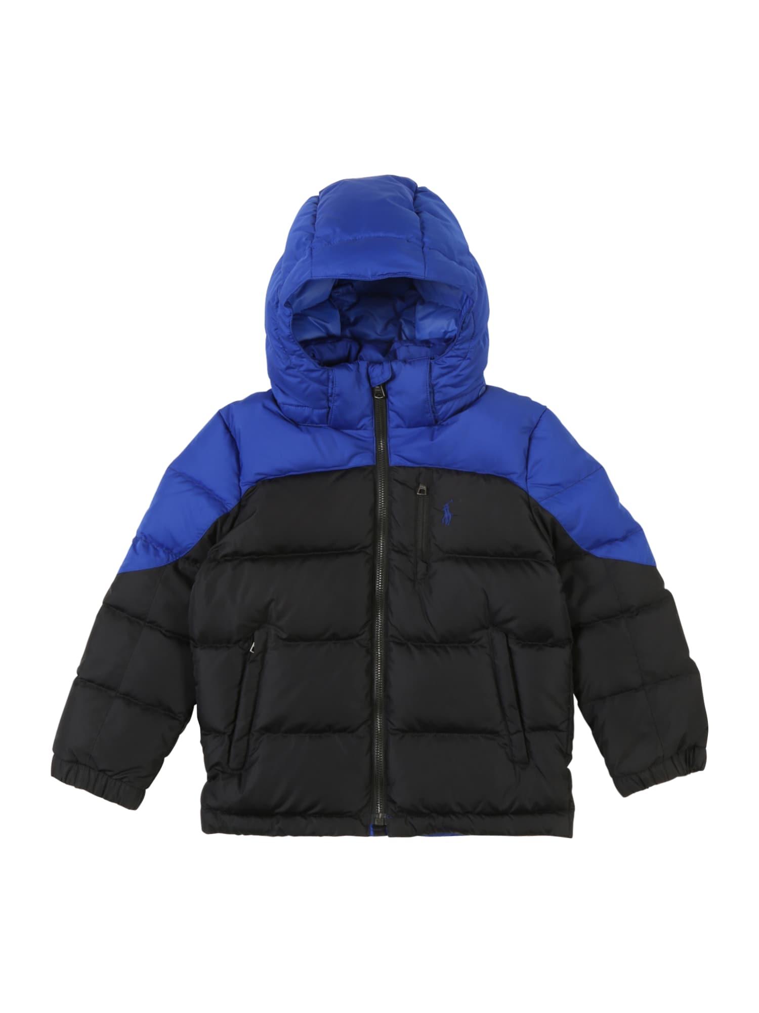 Přechodná bunda modrá černá POLO RALPH LAUREN