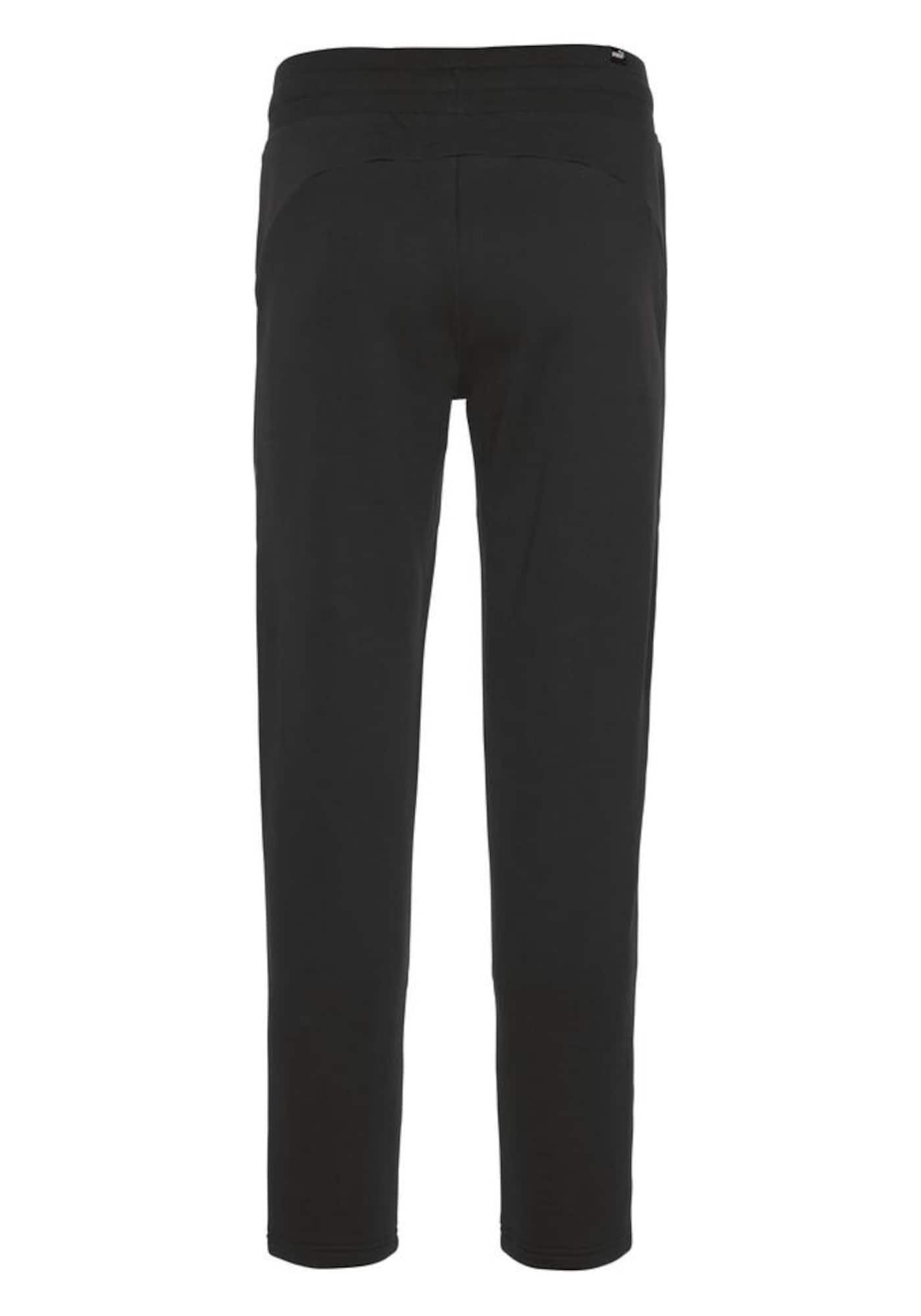 Sportovní kalhoty Tape černá bílá PUMA