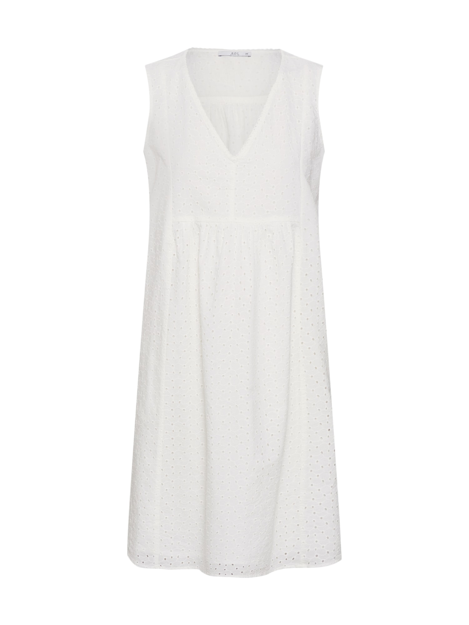 Letní šaty offwhite EDC BY ESPRIT