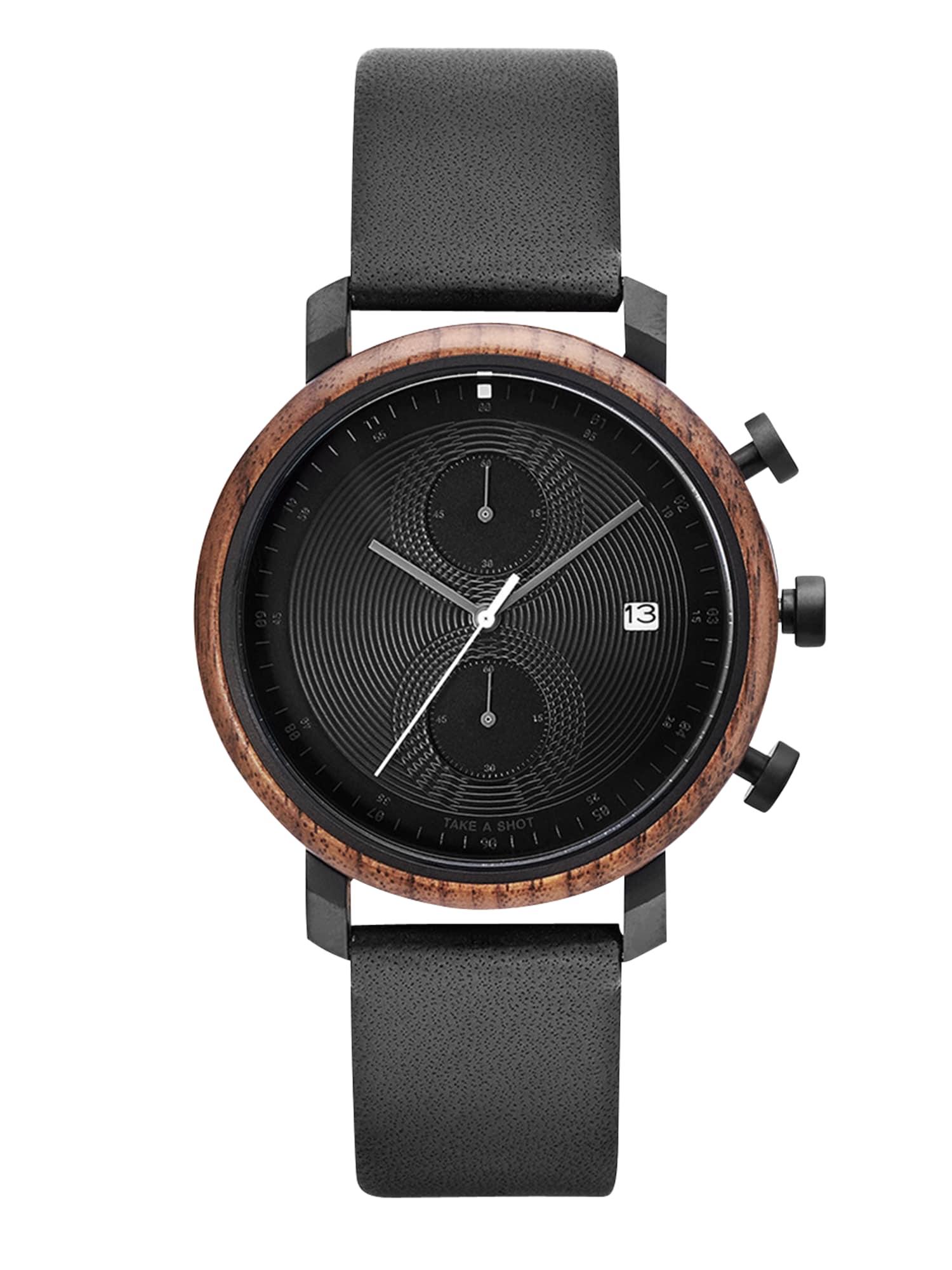 Analogové hodinky Charles černá TAKE A SHOT