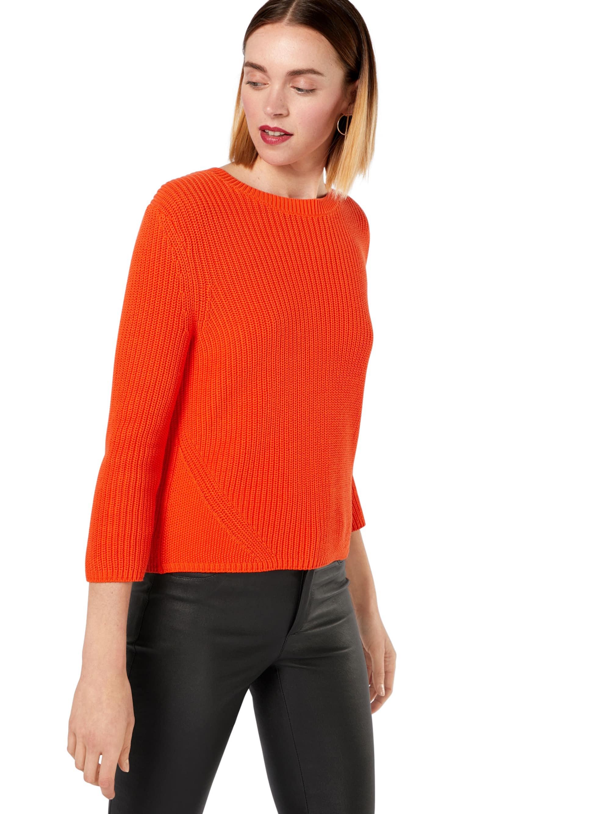 HUGO Sweter 'Sitina'  ciemnopomarańczowy