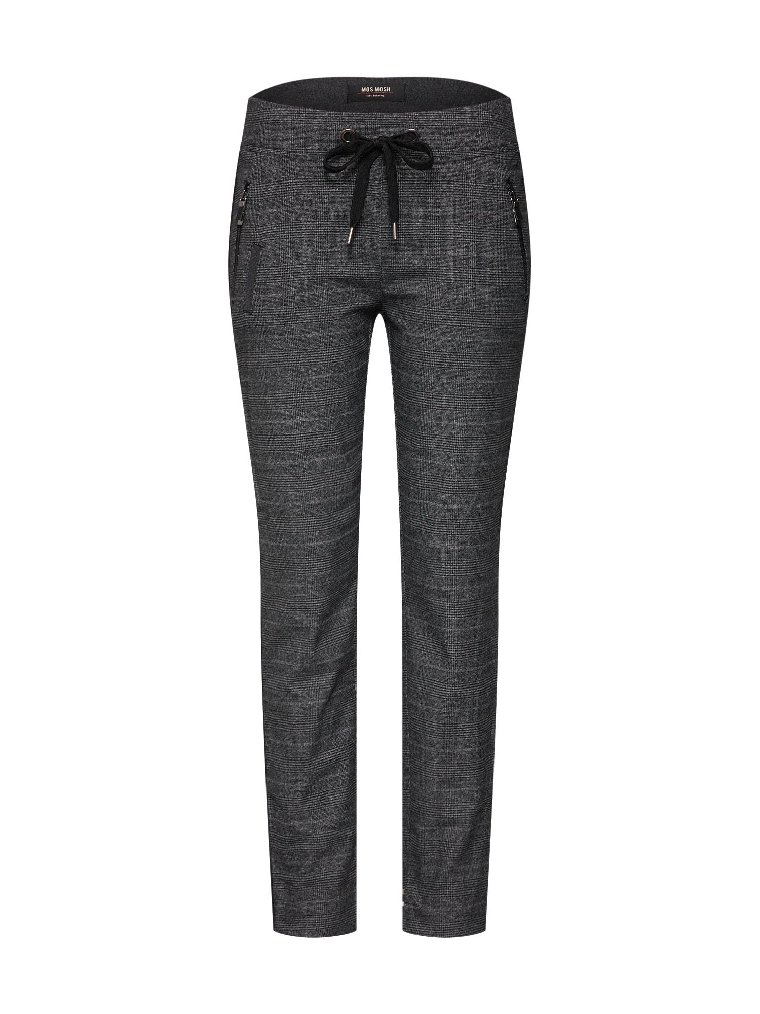 Kalhoty šedý melír MOS MOSH