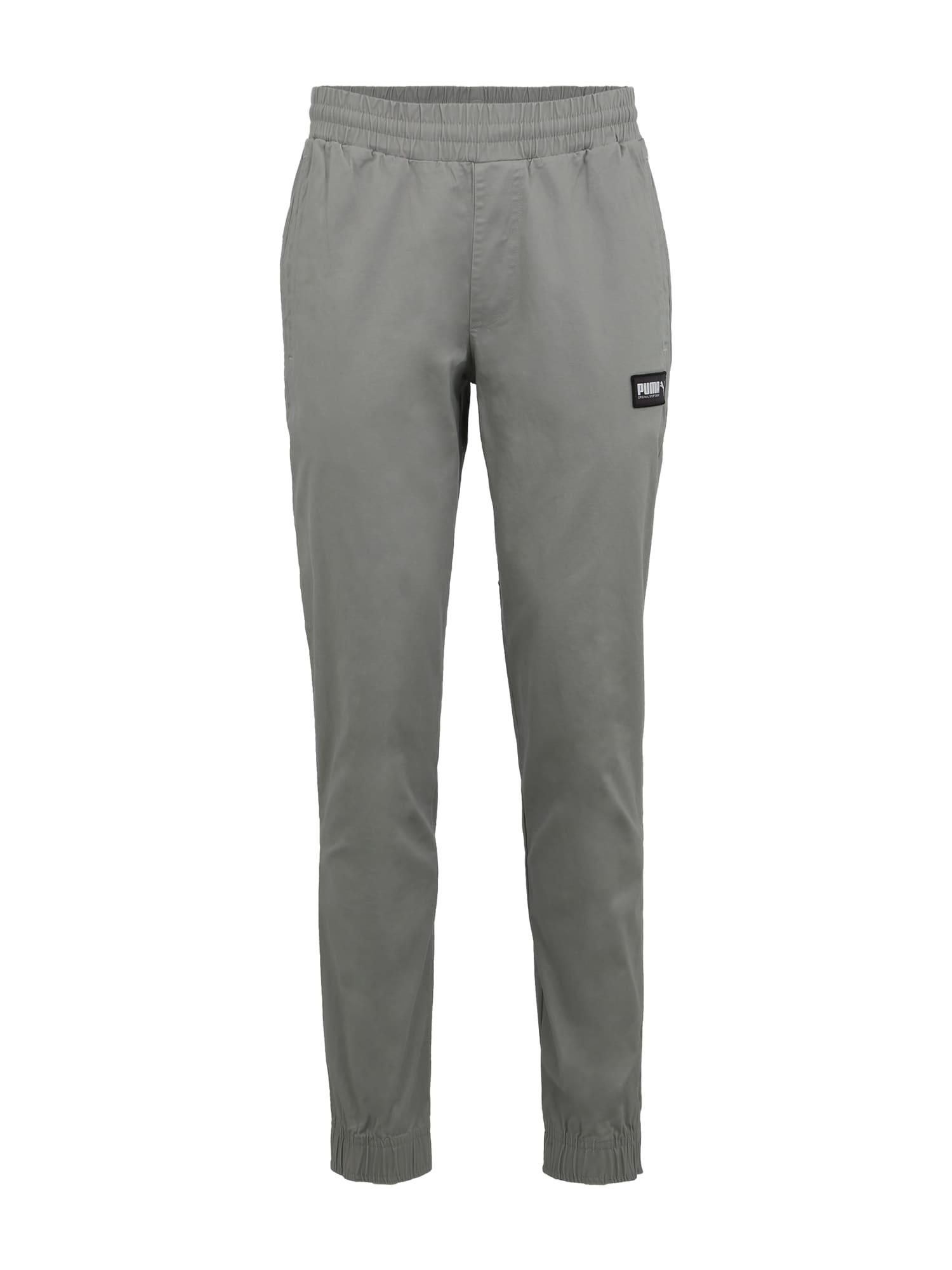 Sportovní kalhoty Fusion Pants světle šedá PUMA