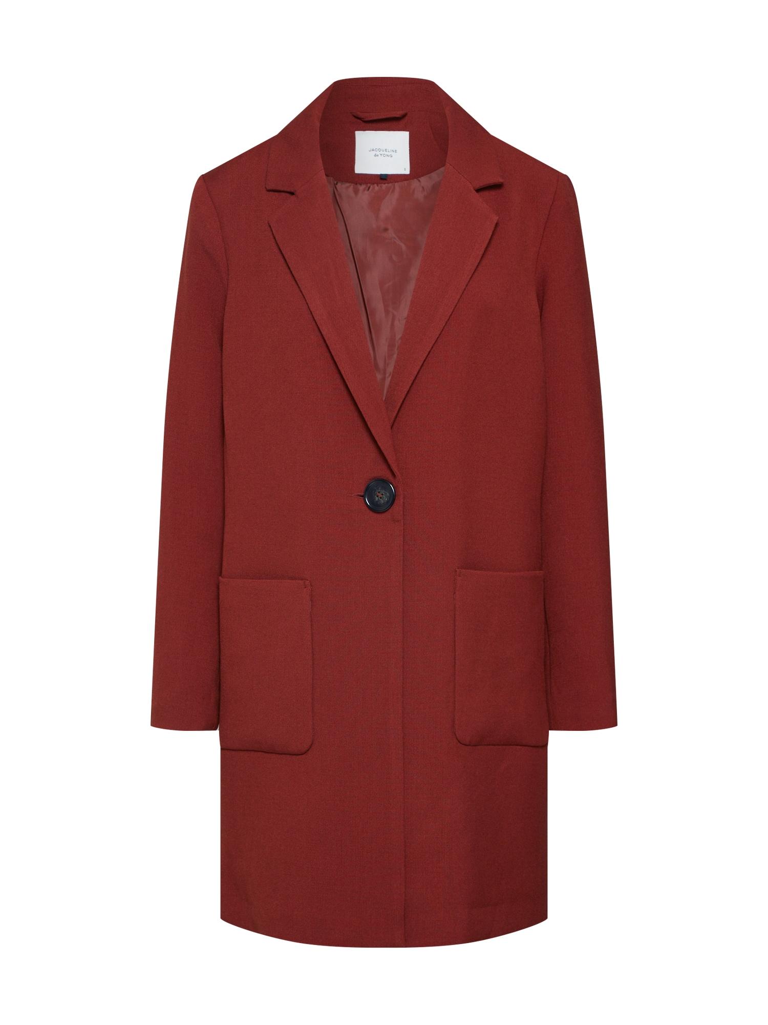 Přechodný kabát KAYA BRIGHTON rezavě hnědá JACQUELINE De YONG