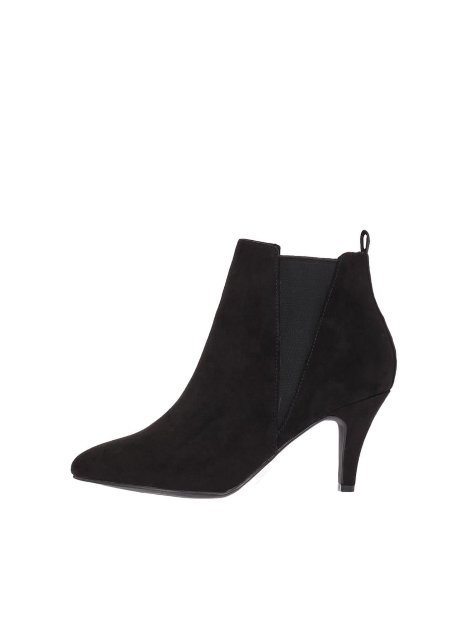 Kotníkové boty BIANUR černá Bianco