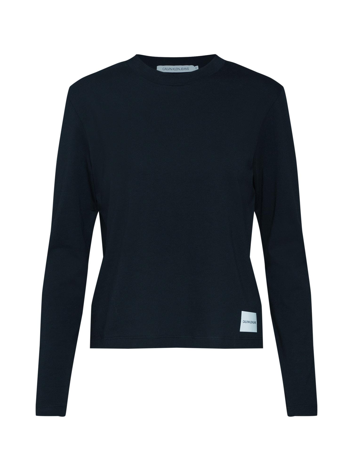 Tričko černá Calvin Klein Jeans
