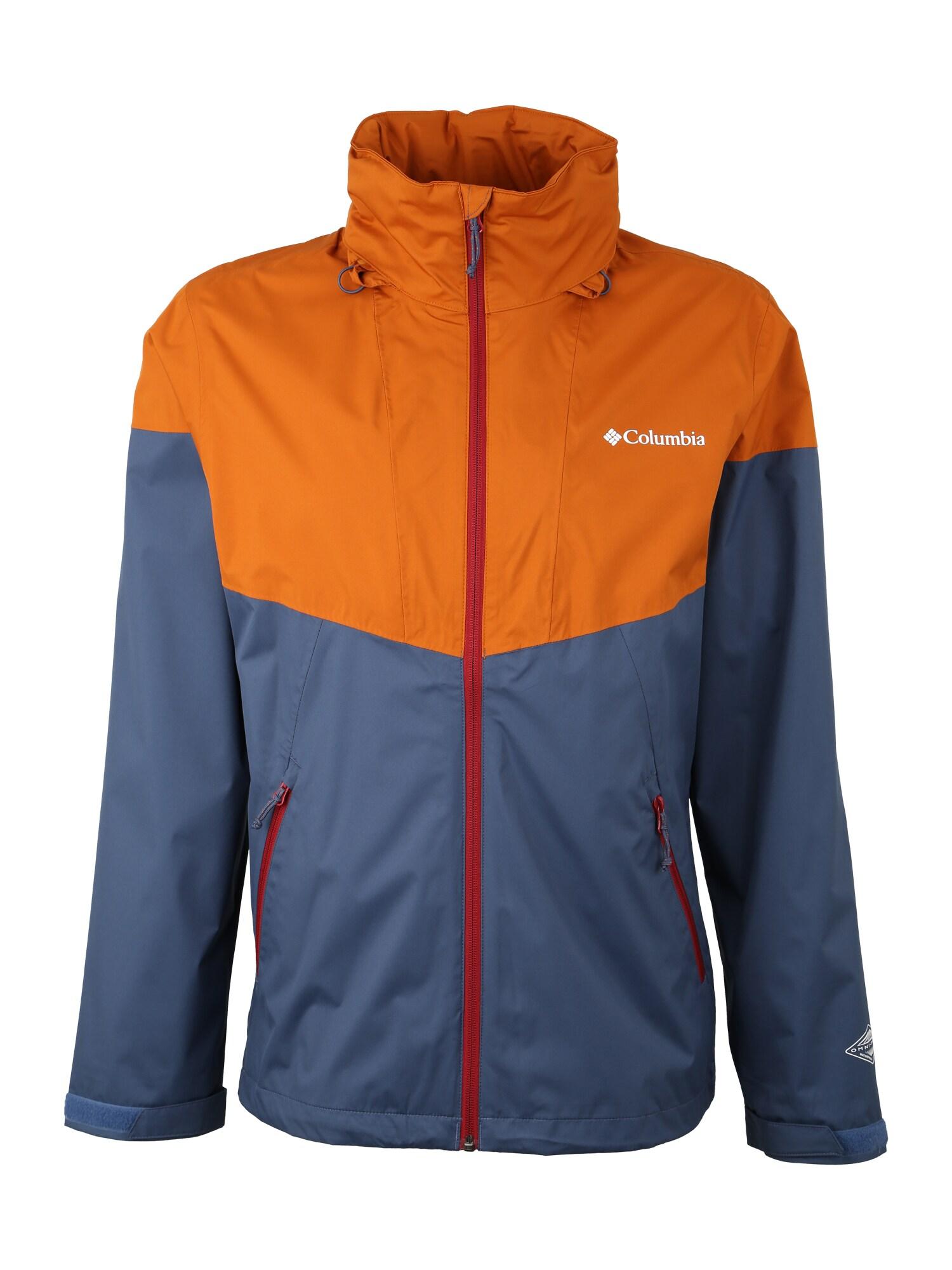 Outdoorová bunda Inner Limits tmavě modrá tmavě oranžová COLUMBIA