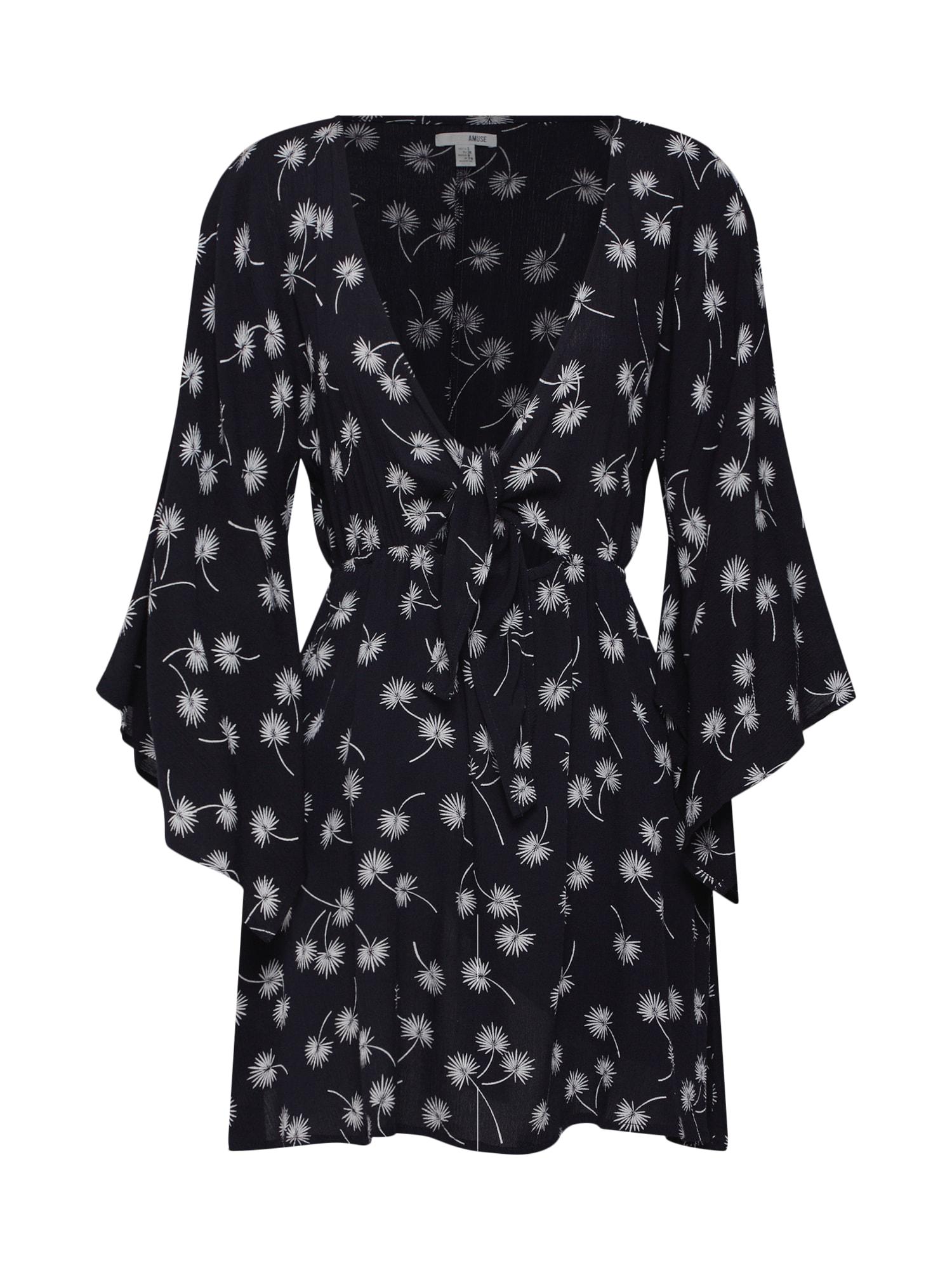 Letní šaty Clementina Dress schwarz Amuse Society