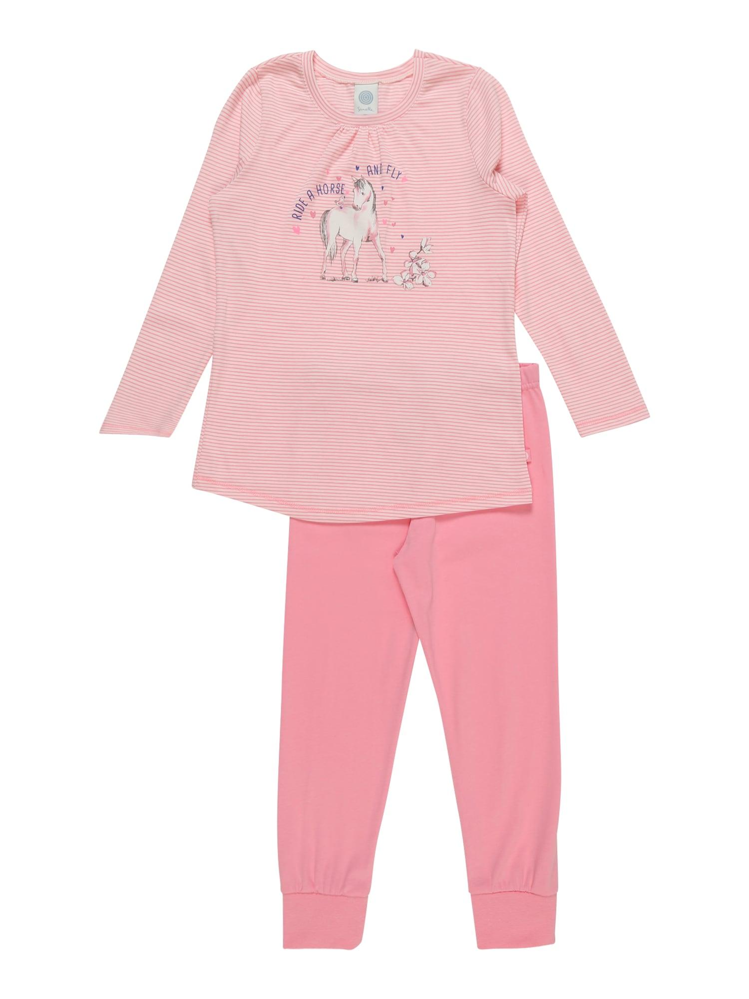 Pyžamo růžová SANETTA