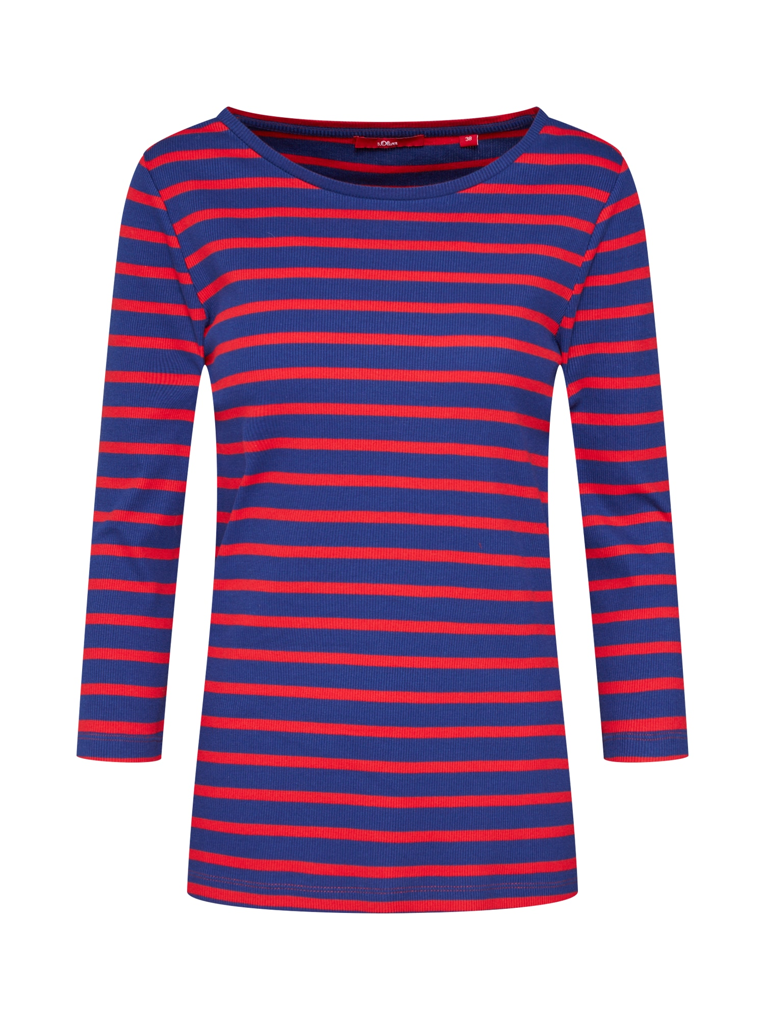 Tričko indigo červená S.Oliver RED LABEL