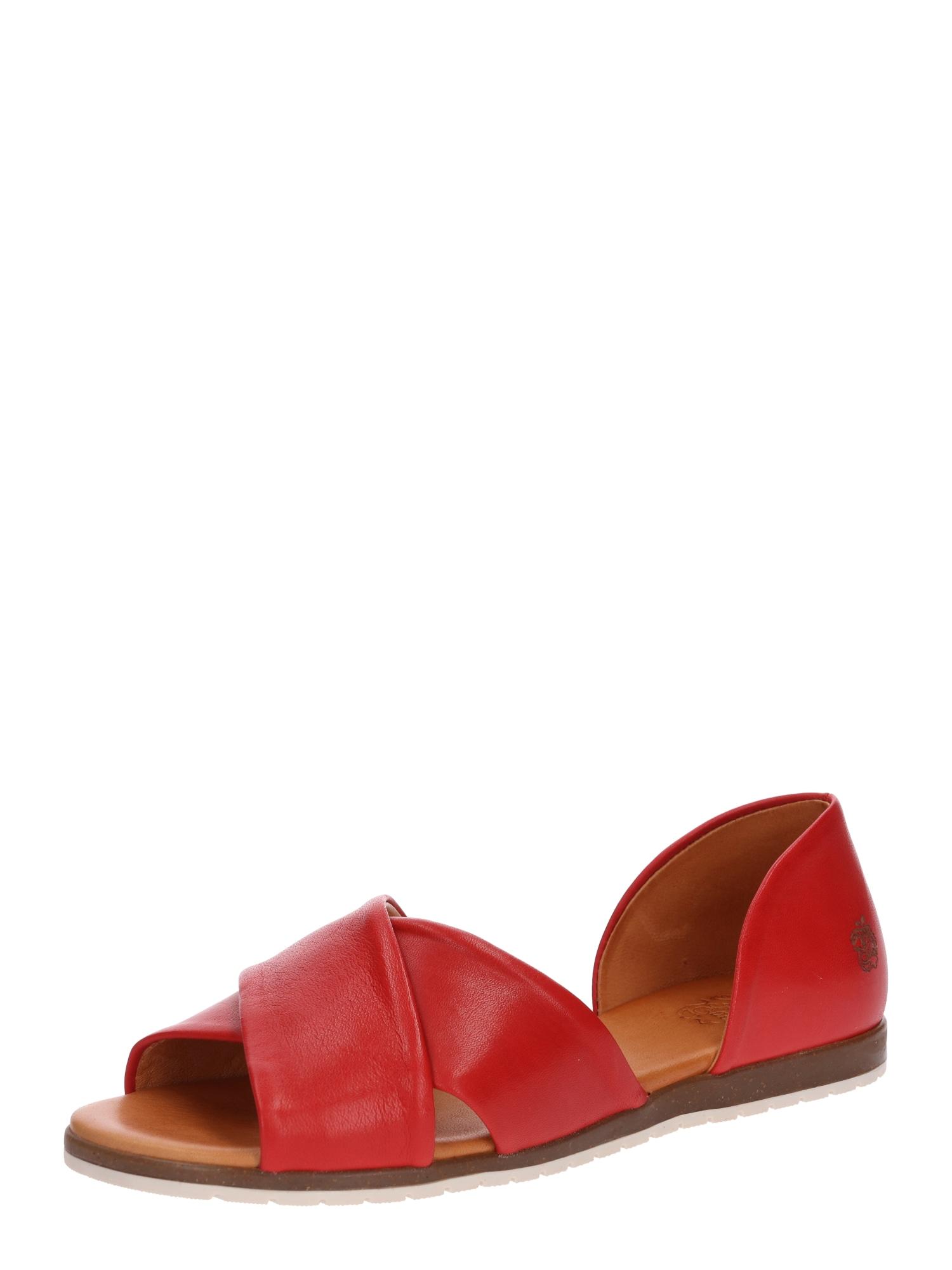 Sandály Chiusi červená Apple Of Eden