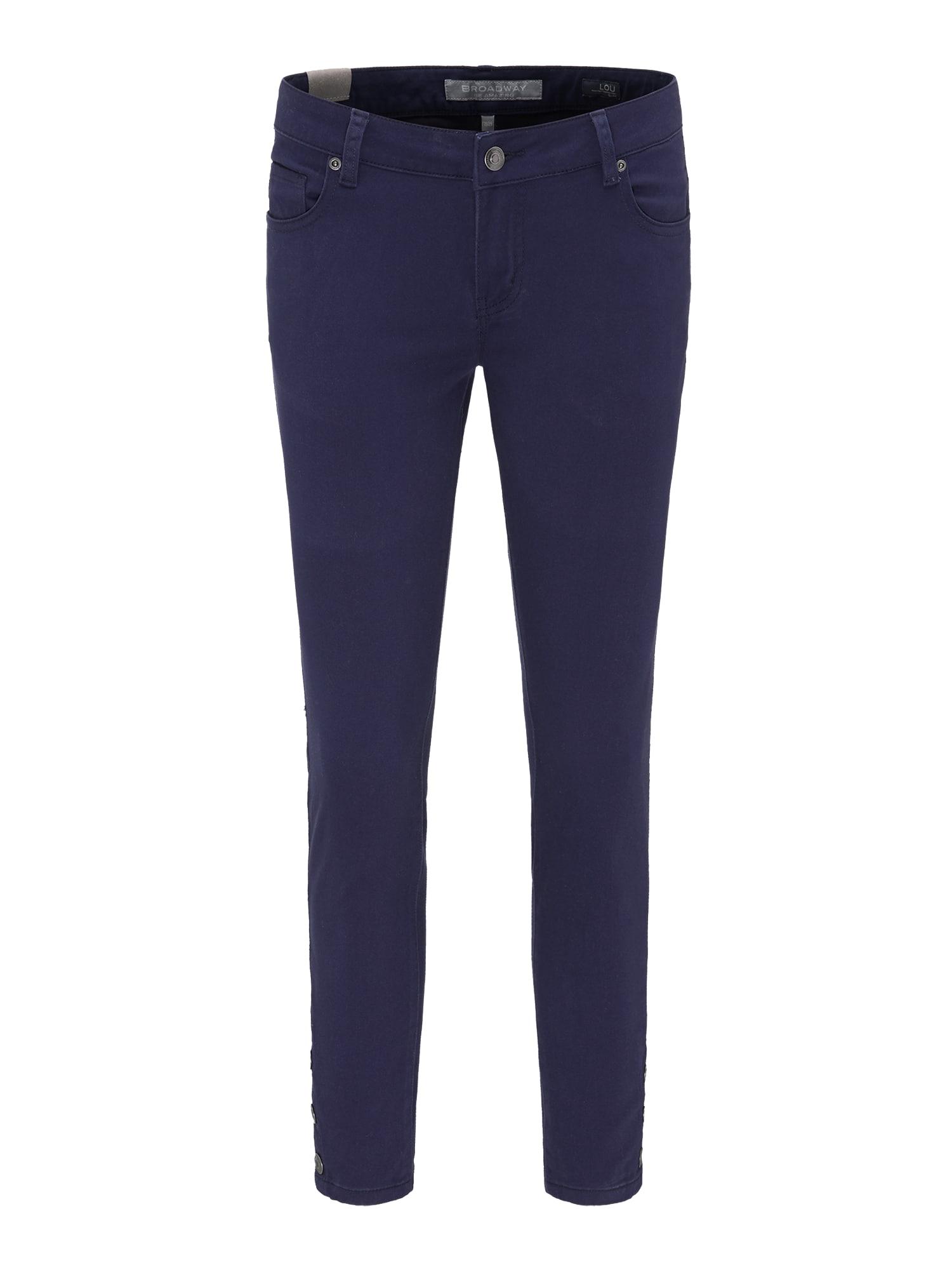 Kalhoty LOU 2859 tmavě modrá BROADWAY NYC FASHION