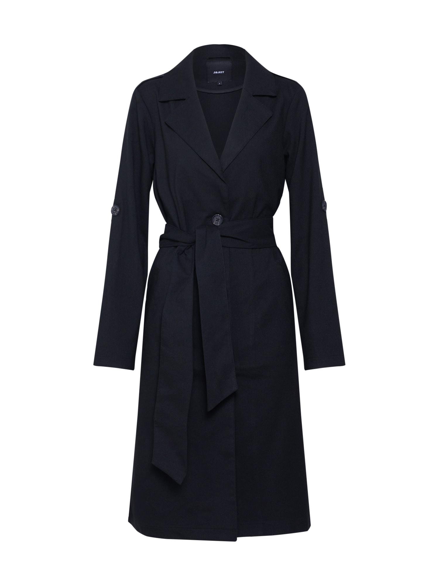 Přechodný kabát Annabelle černá OBJECT