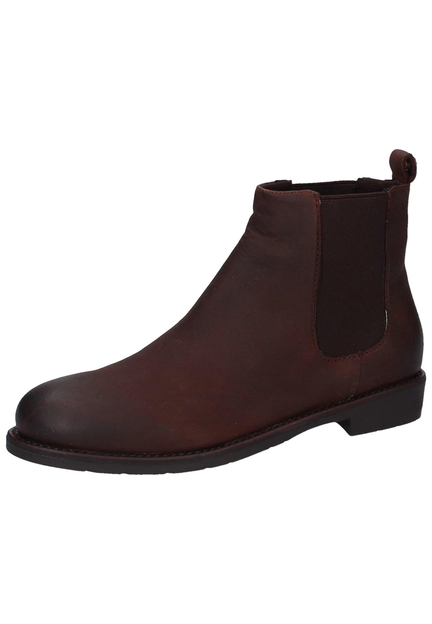 Chelsea boty Chelstro tmavě hnědá SPM