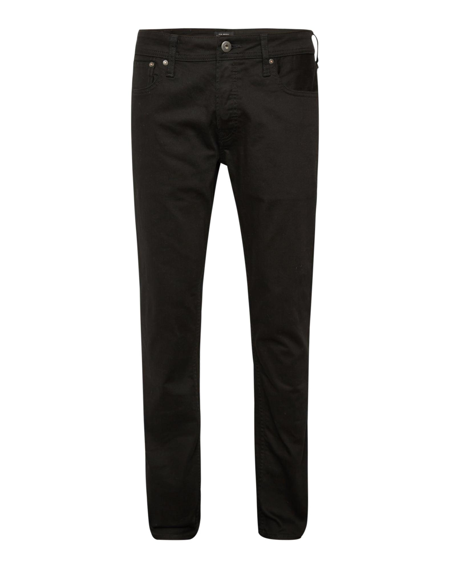 Džíny Black- Jeans černá džínovina JACK & JONES