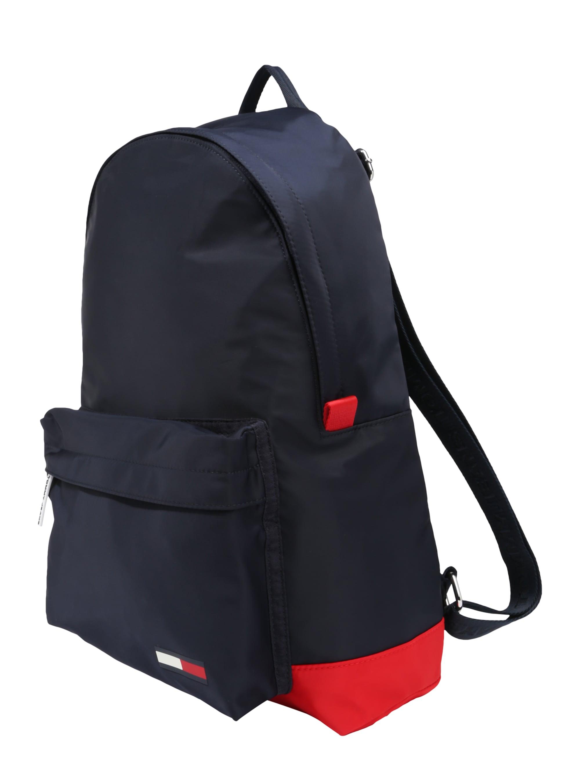 Tommy Jeans Plecak 'CLASSIC'  granatowy / jasnoczerwony / biały