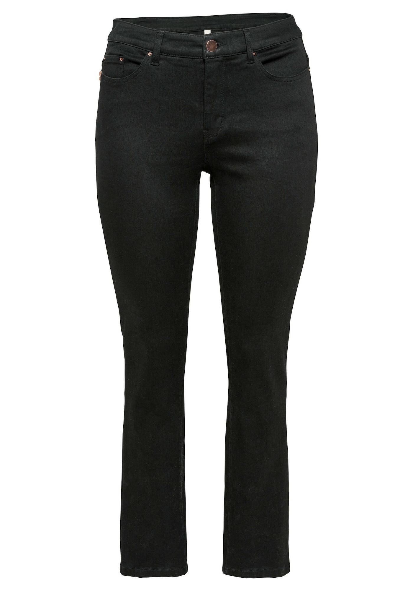 Jeans | Bekleidung > Jeans | Schwarz | SHEEGO