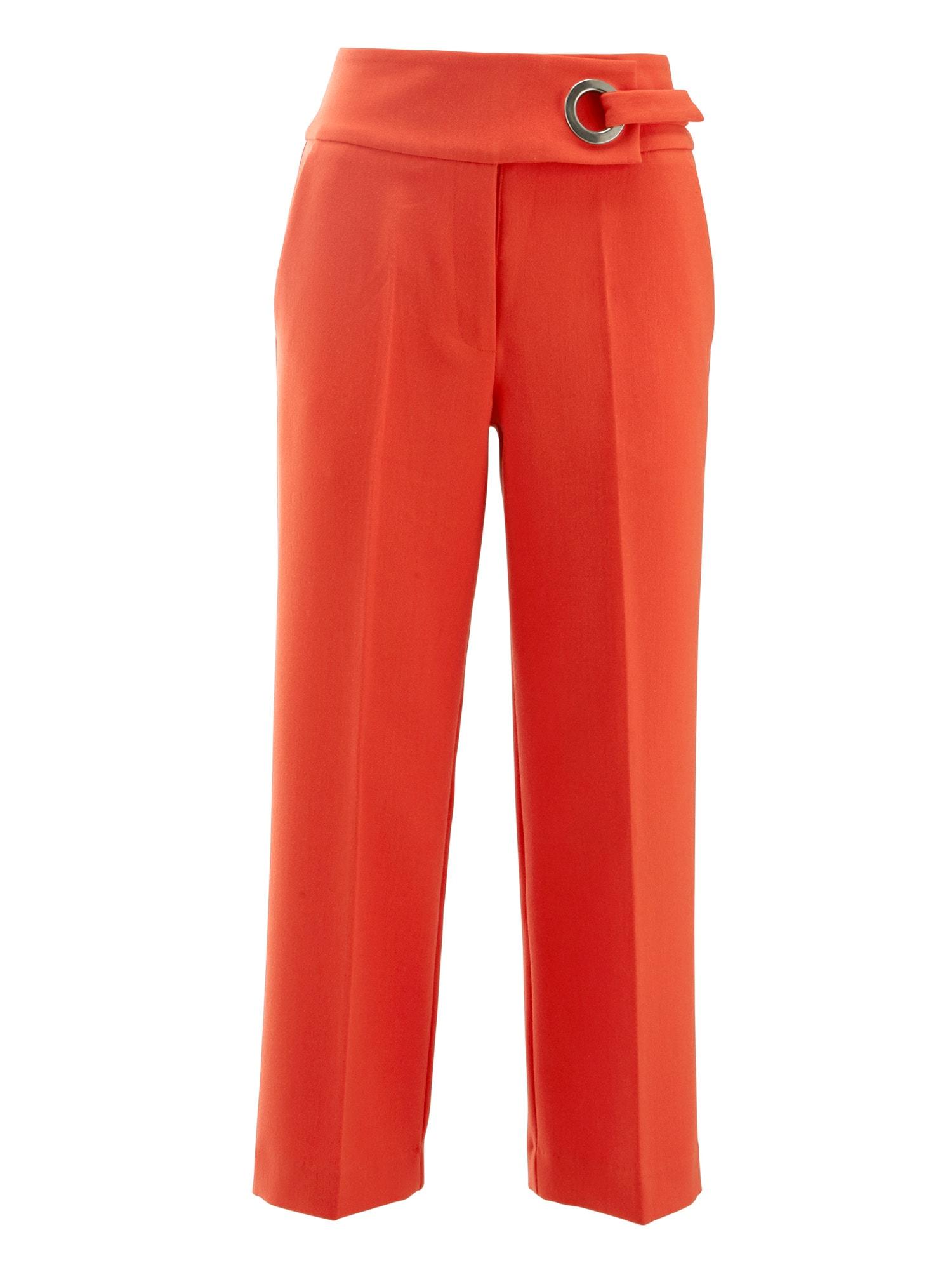 Kalhoty svítivě oranžová Heine