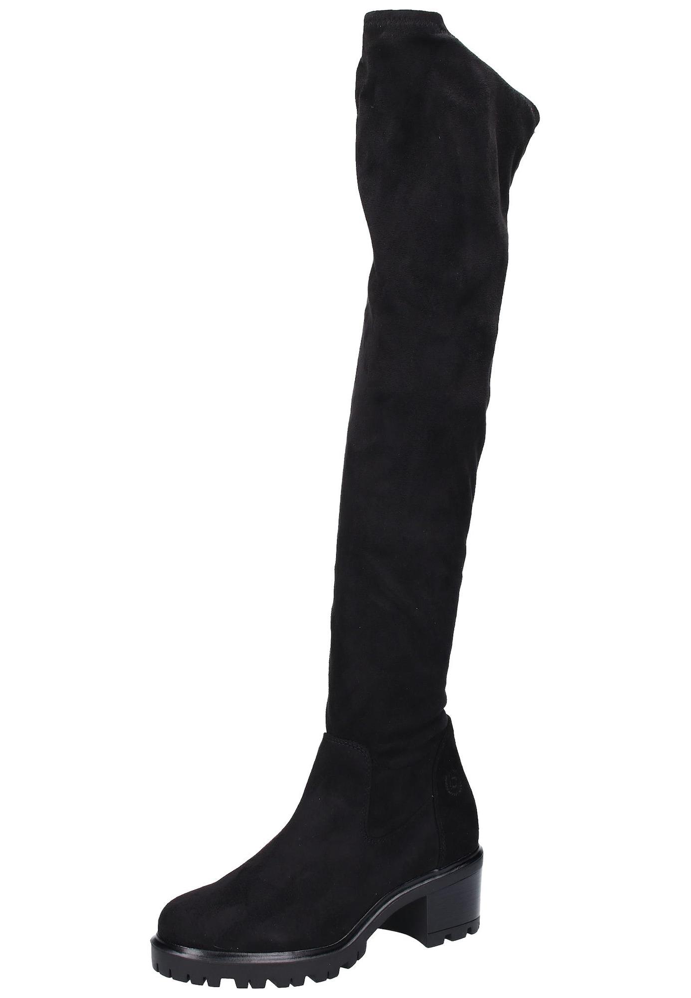 Bugatti, Dames Overknee laarzen 'Clea', zwart