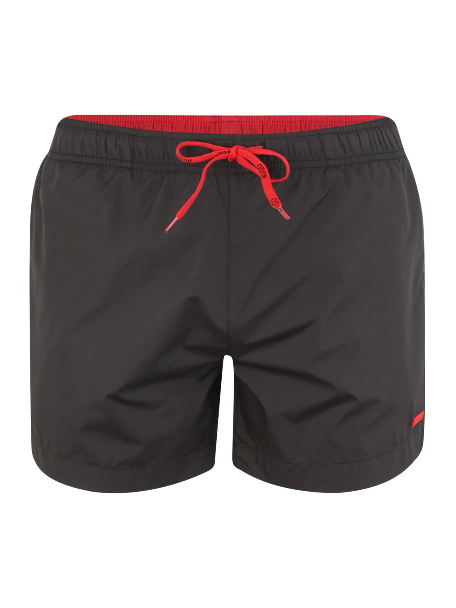 Plavecké šortky 50412826 černá HUGO