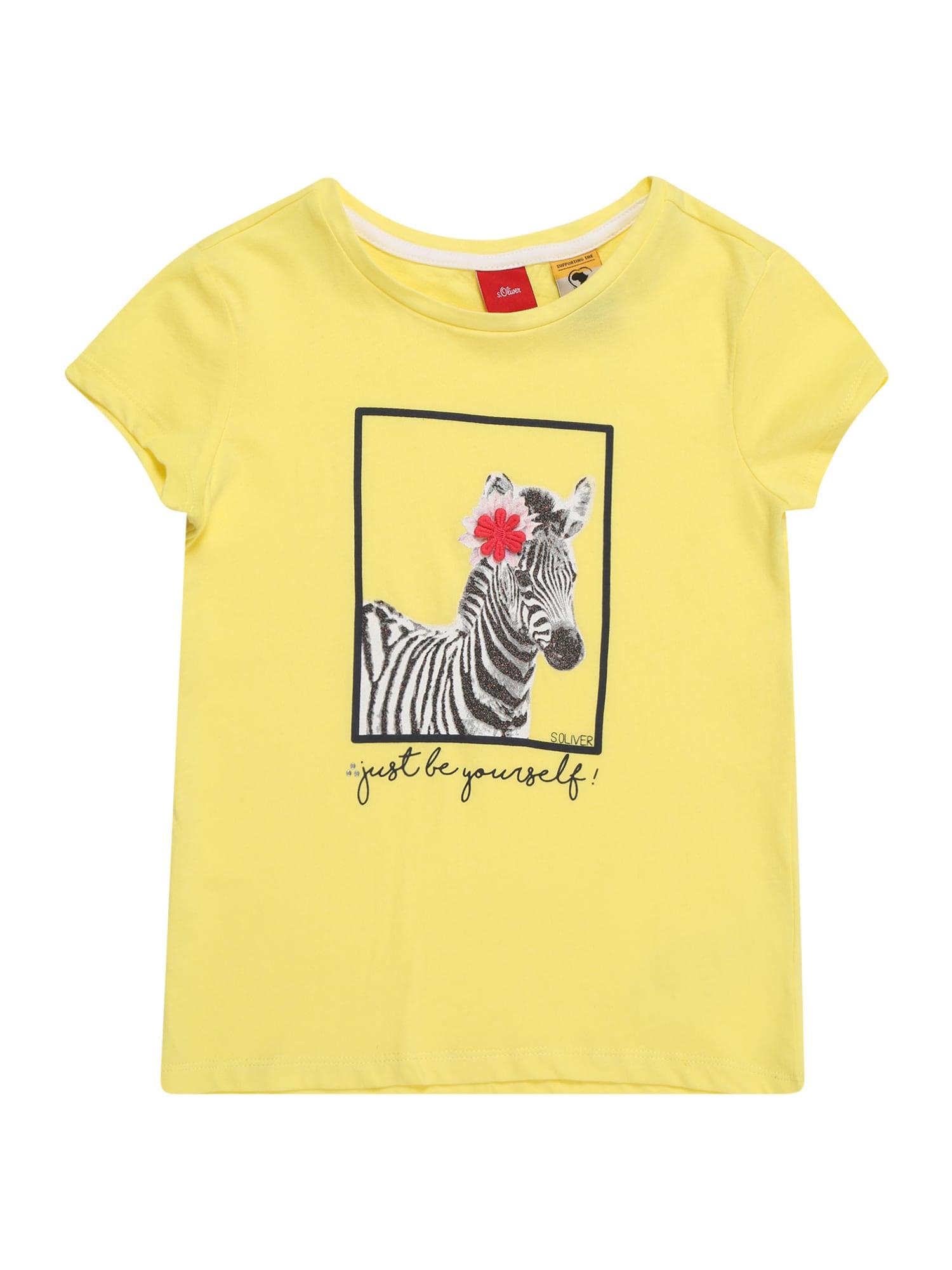 Tričko žlutá S.Oliver Junior