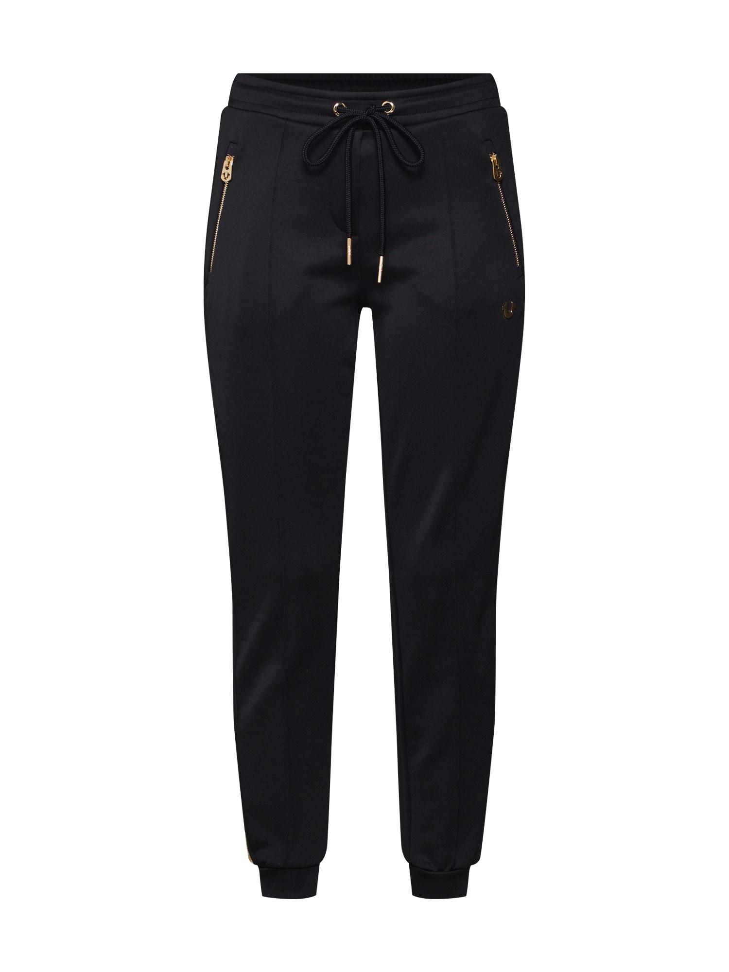 Kalhoty CONTRAST STRIPE PANT černá True Religion