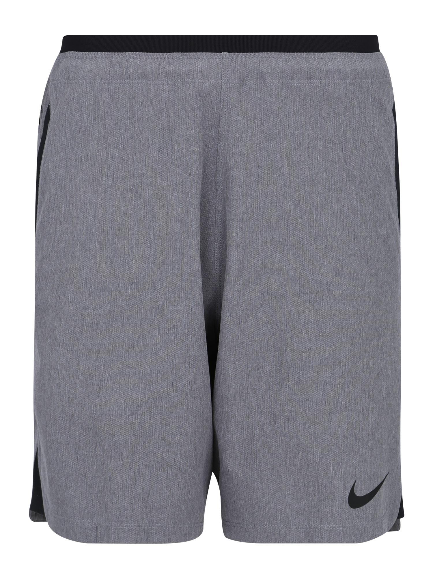 Sportovní kalhoty M NP FLEX REPEL SHORT NPC šedá NIKE