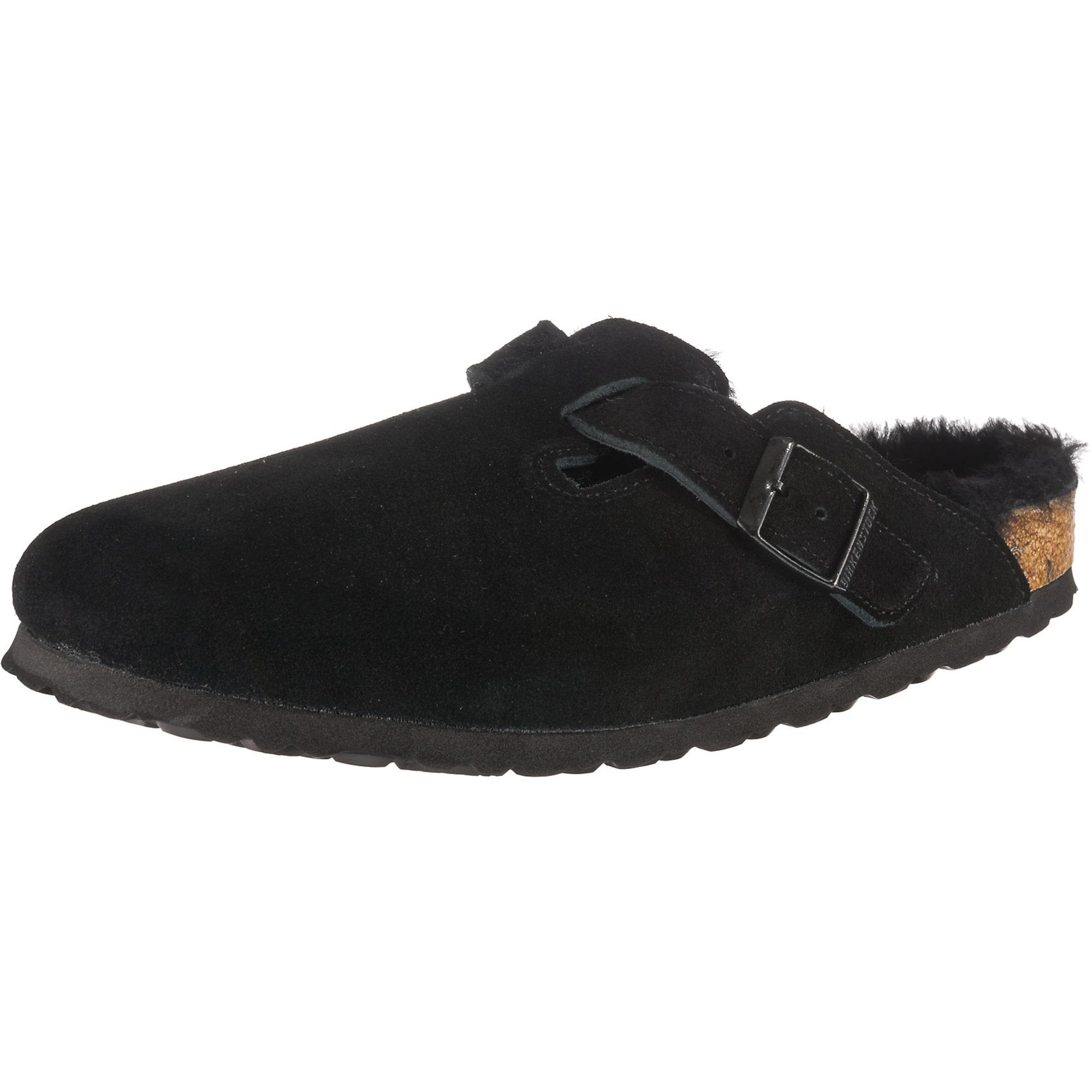 Pantofle Boston Shearling černá BIRKENSTOCK