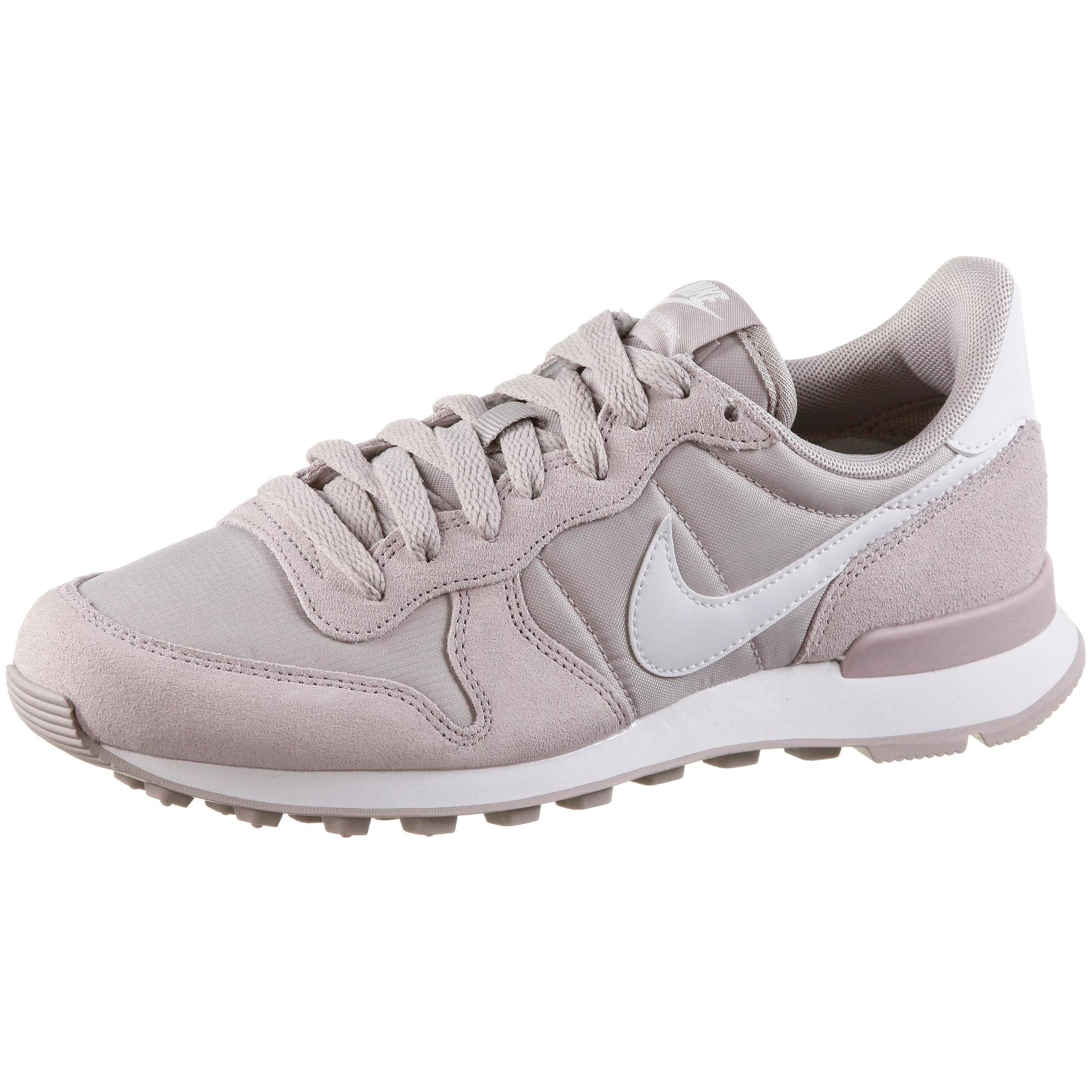 Nike Sportswear, Dames Sneakers laag 'Internationalist', pastellila / wit