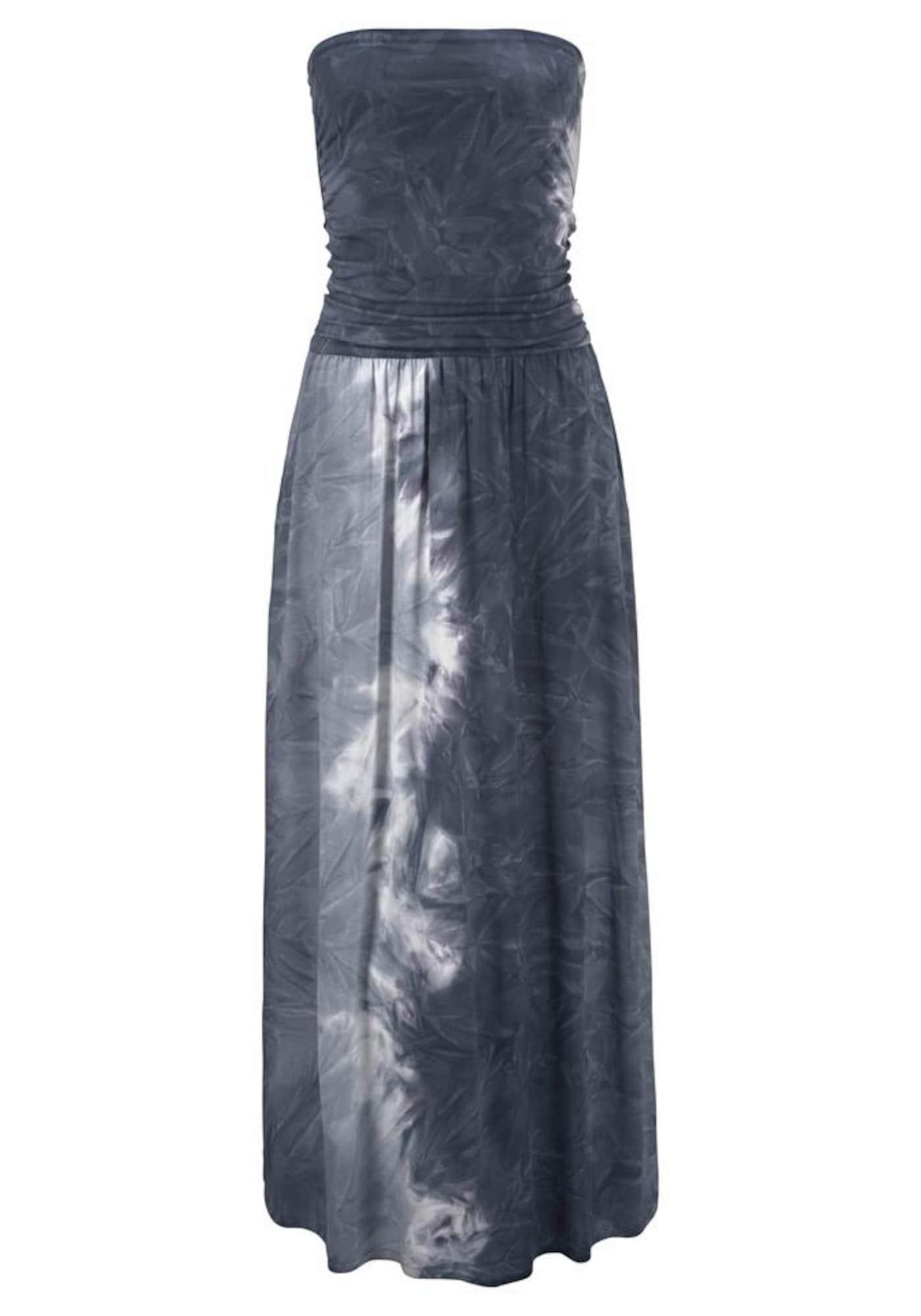 Plážové šaty šedá LASCANA