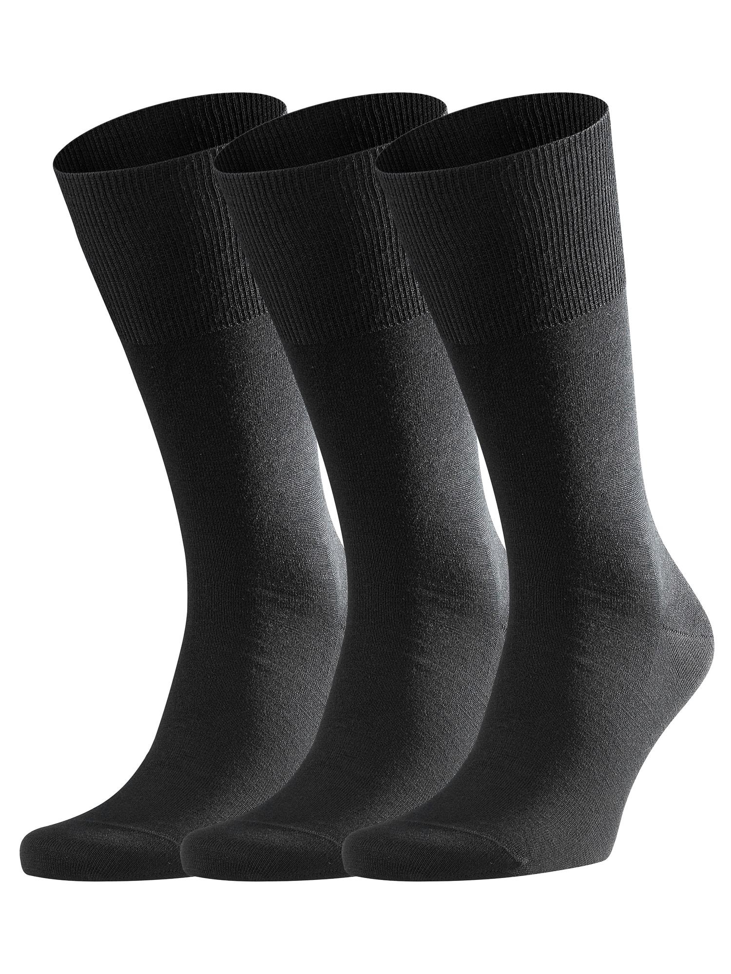 Ponožky AirportBundle3 černá FALKE