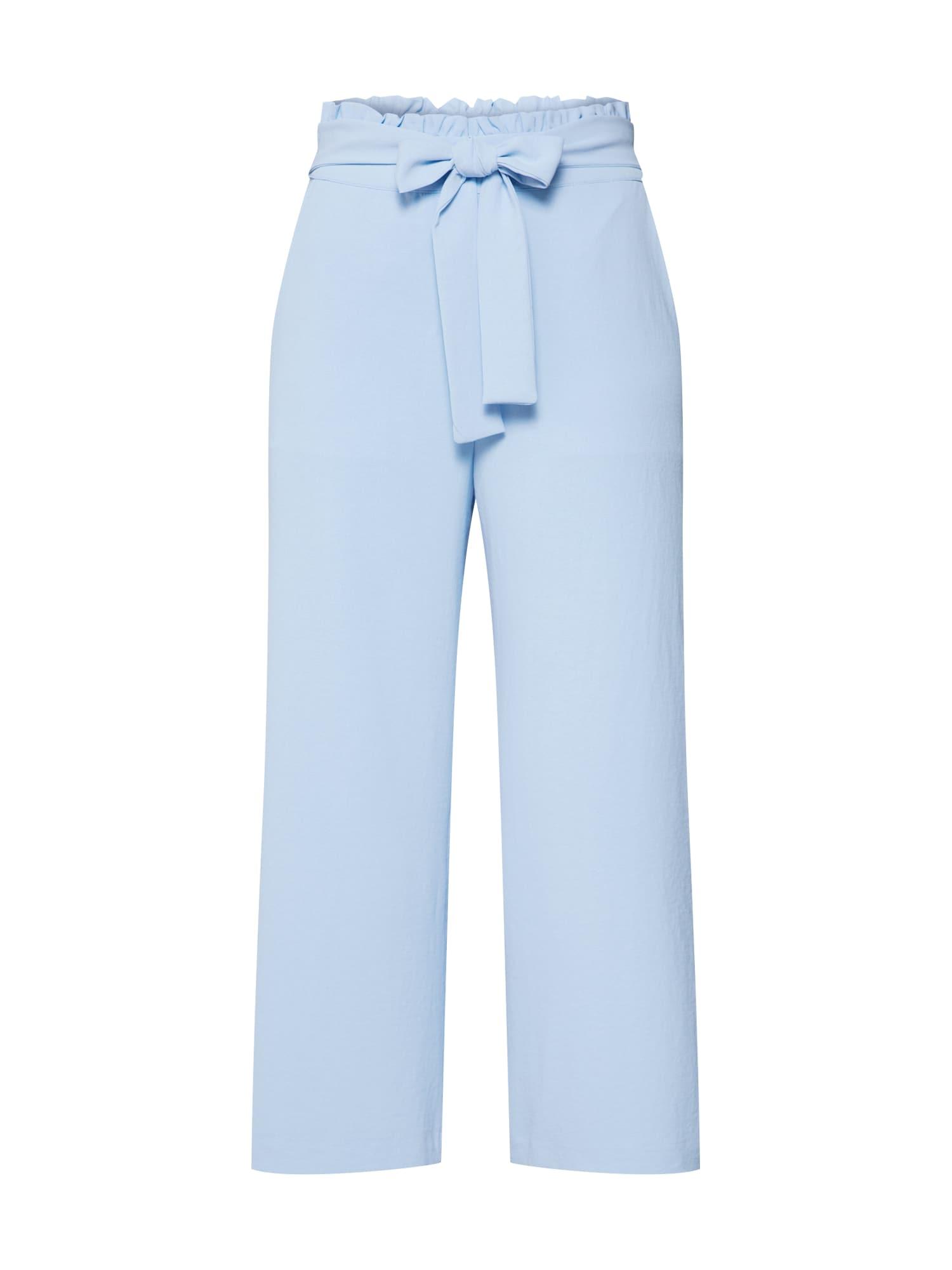Kalhoty VIRASHA světlemodrá VILA