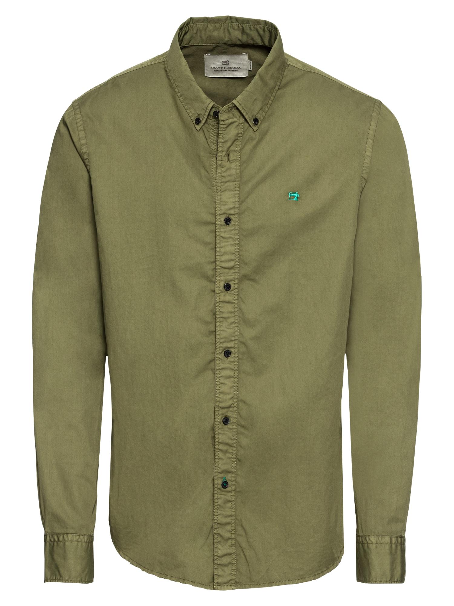 Košile khaki SCOTCH & SODA