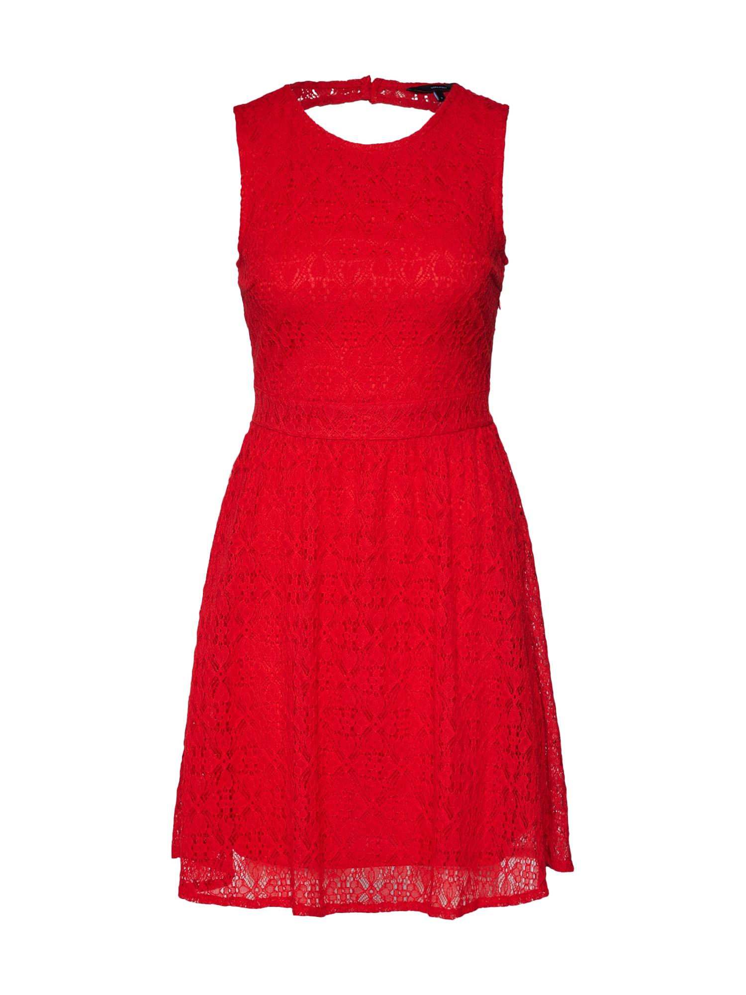 Šaty SIMONA červená VERO MODA