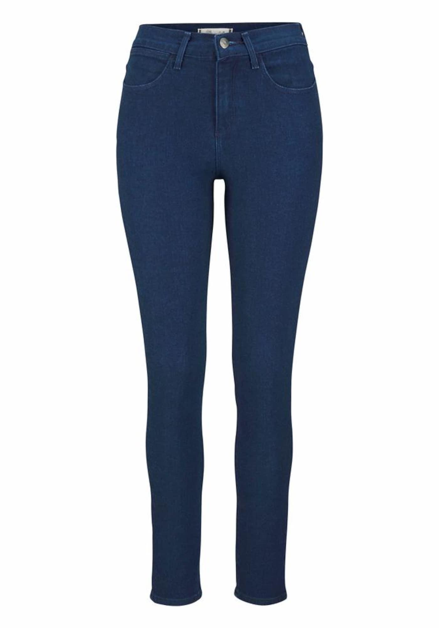 WRANGLER Dames Jeans donkerblauw