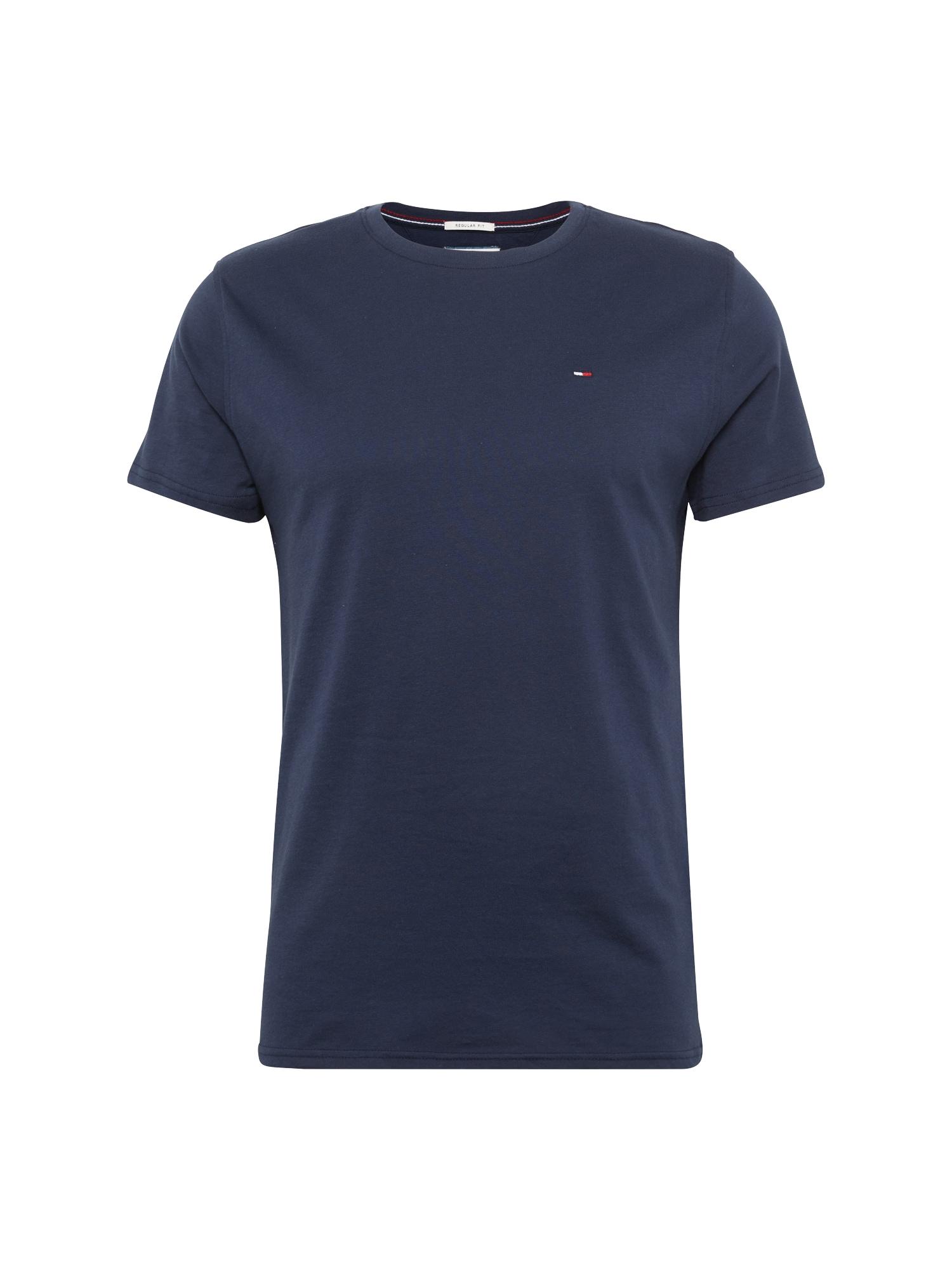 Tričko TJM ORIGINAL JERSEY tmavě modrá Tommy Jeans