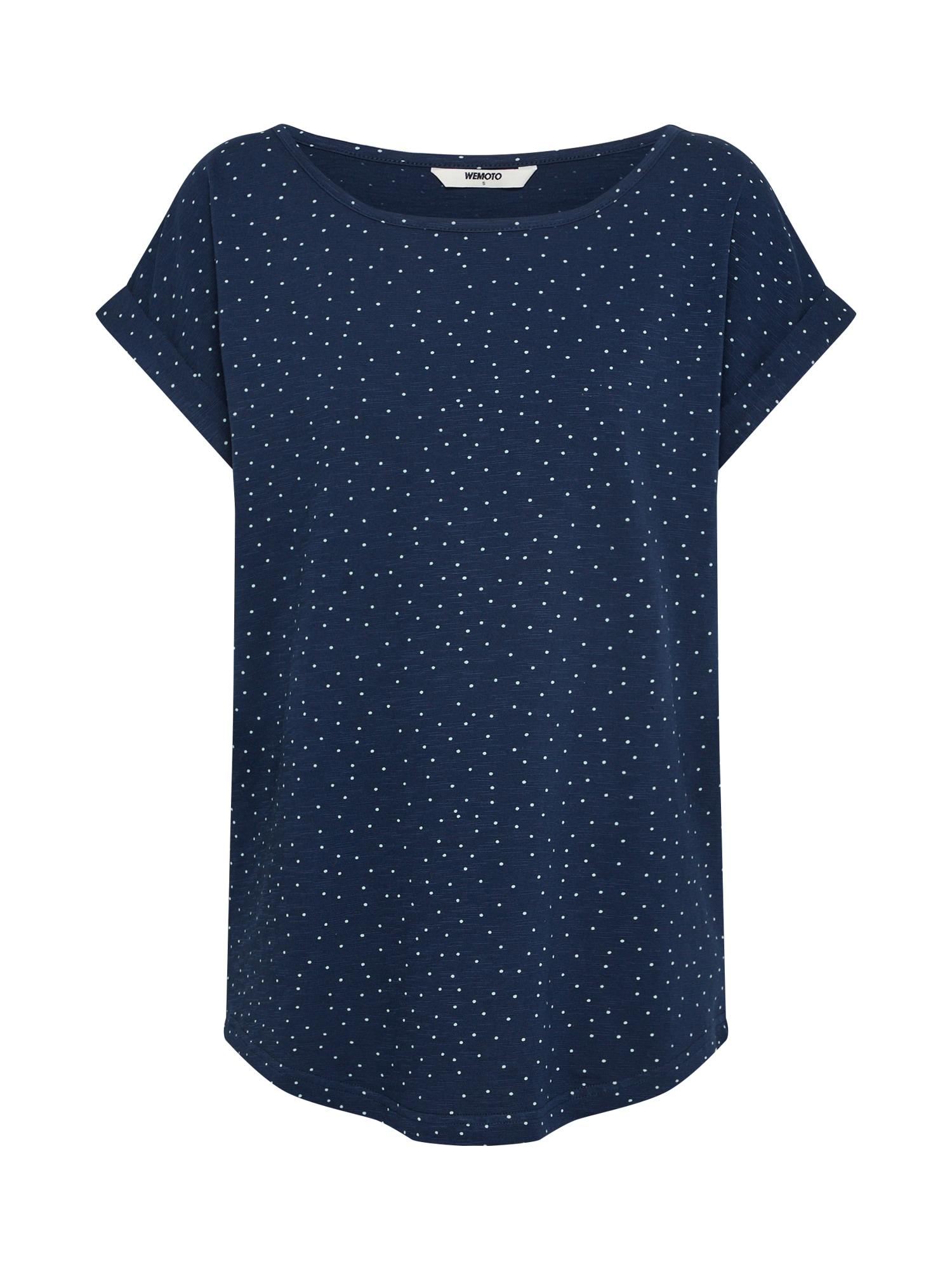 Tričko námořnická modř bílá Wemoto