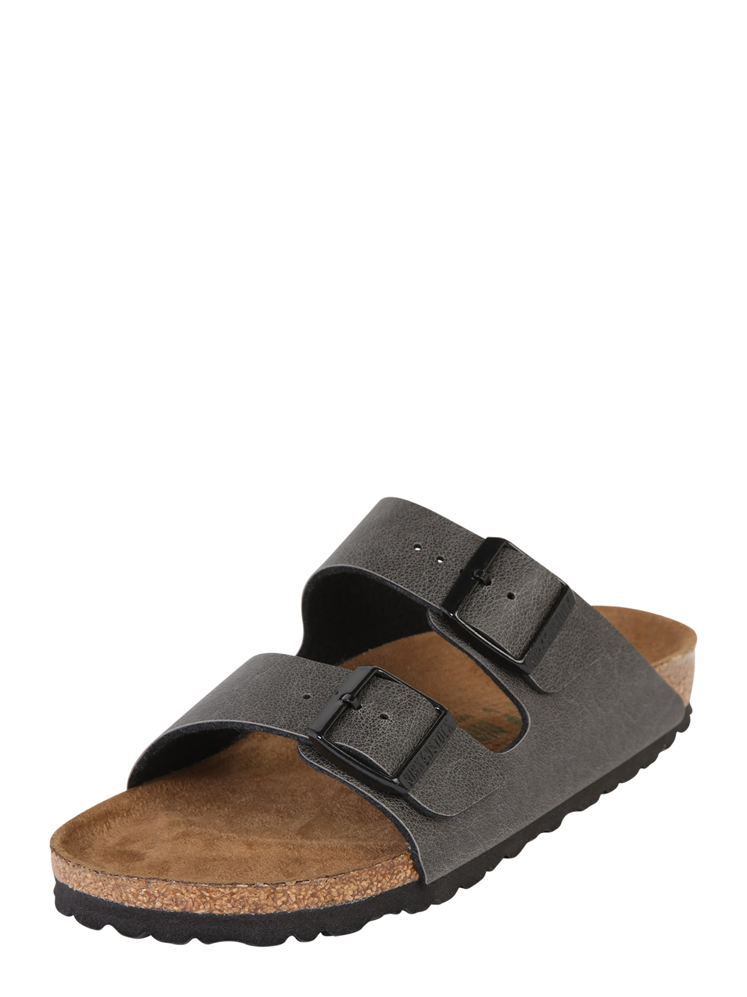 Pantofle Arizona Pull Up Vegan antracitová BIRKENSTOCK