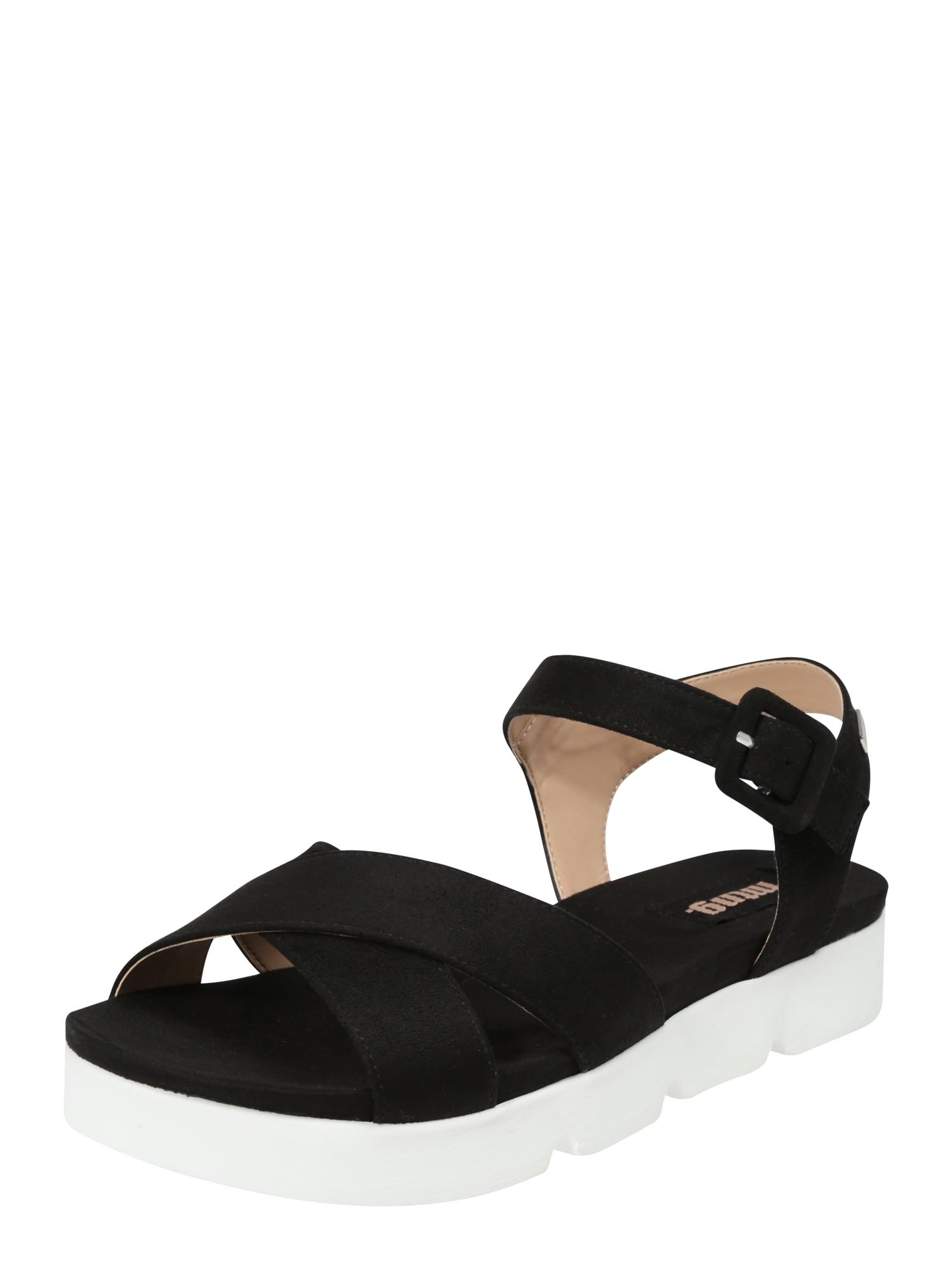 Sandály Land černá MTNG
