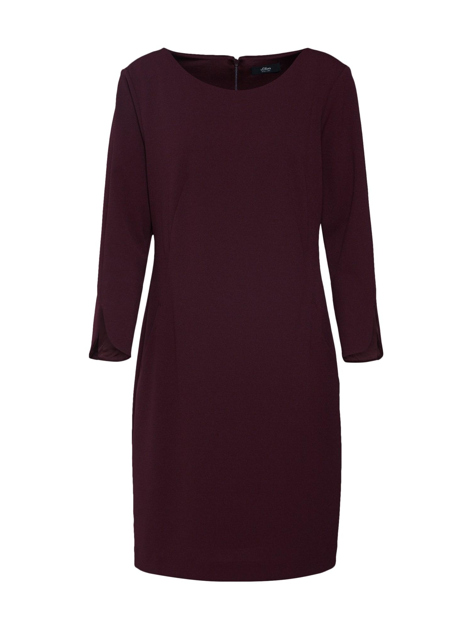 Šaty červená třešeň S.Oliver BLACK LABEL